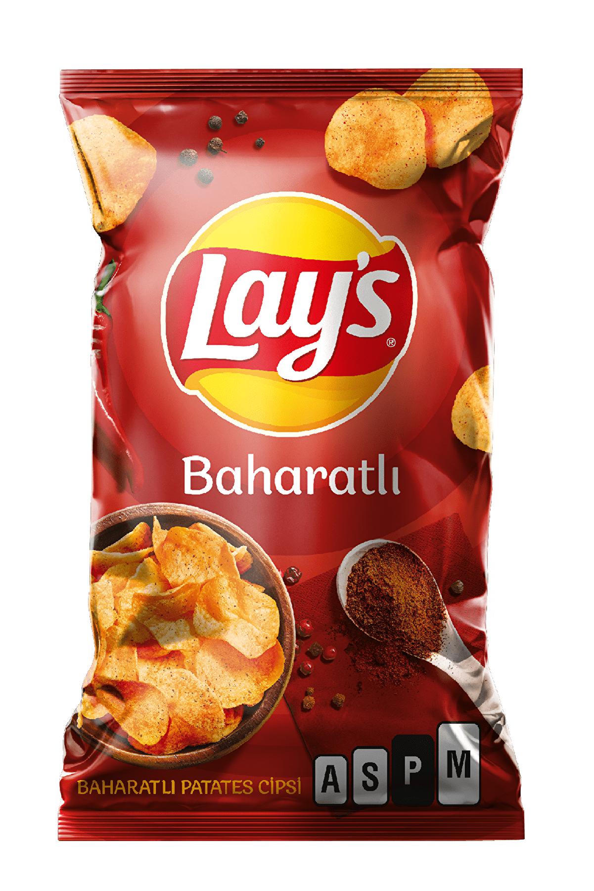 Lays Baharatlı Parti Boy Patates Cipsi 150 gr