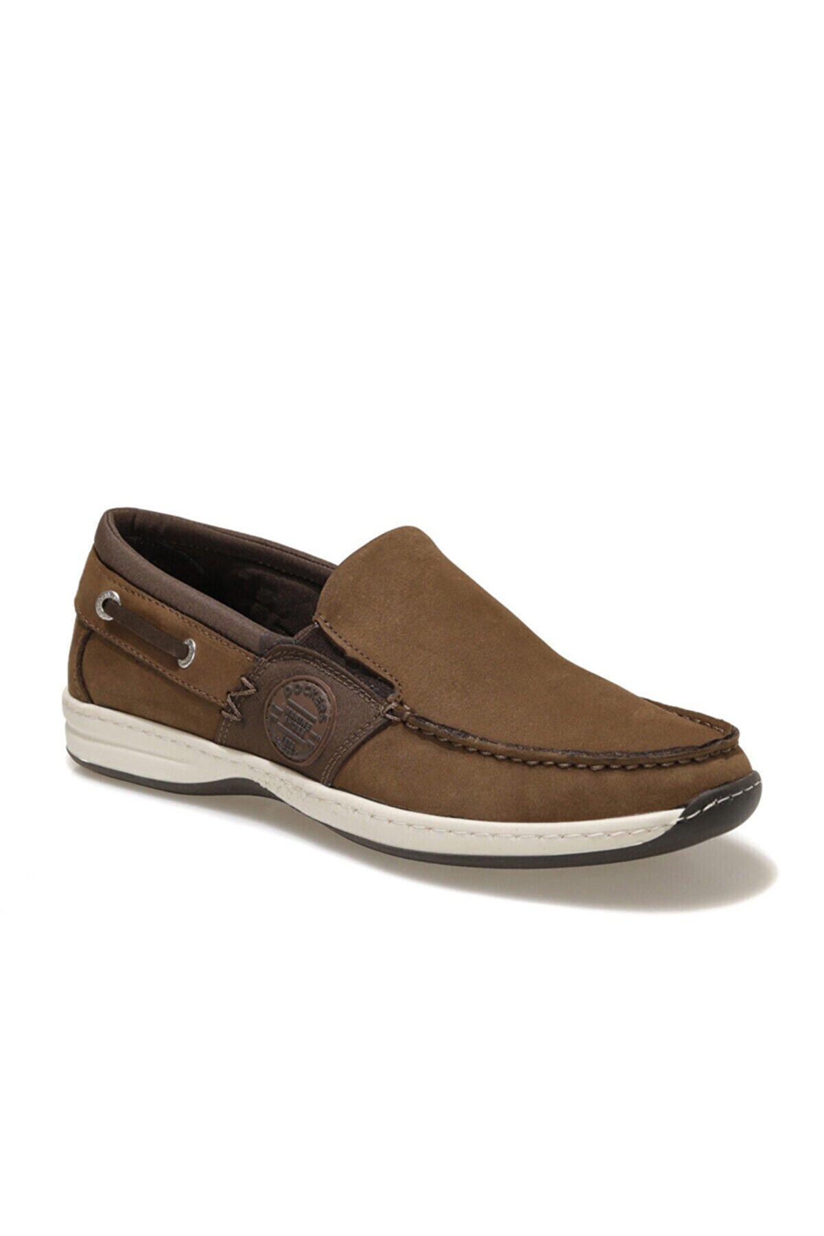 Dockers 220101 1FX Kahverengi Erkek Marin Ayakkabı 100919003