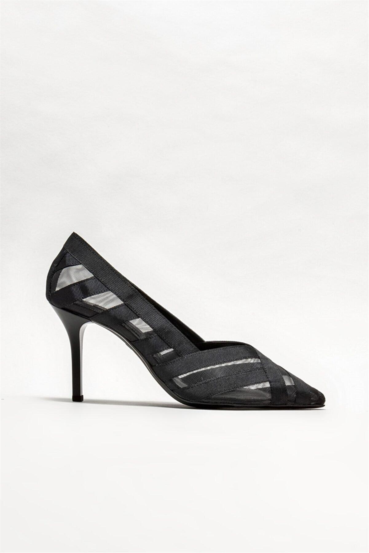 Elle Kadın Siyah Stiletto