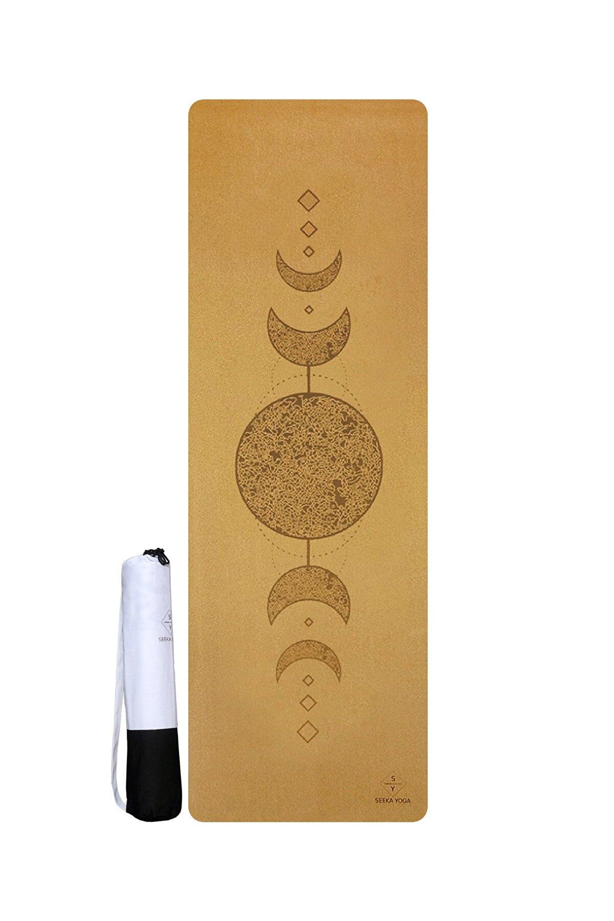 Seeka Yoga Moon Mantar Yüzeyli Doğal Kauçuk Yoga Matı