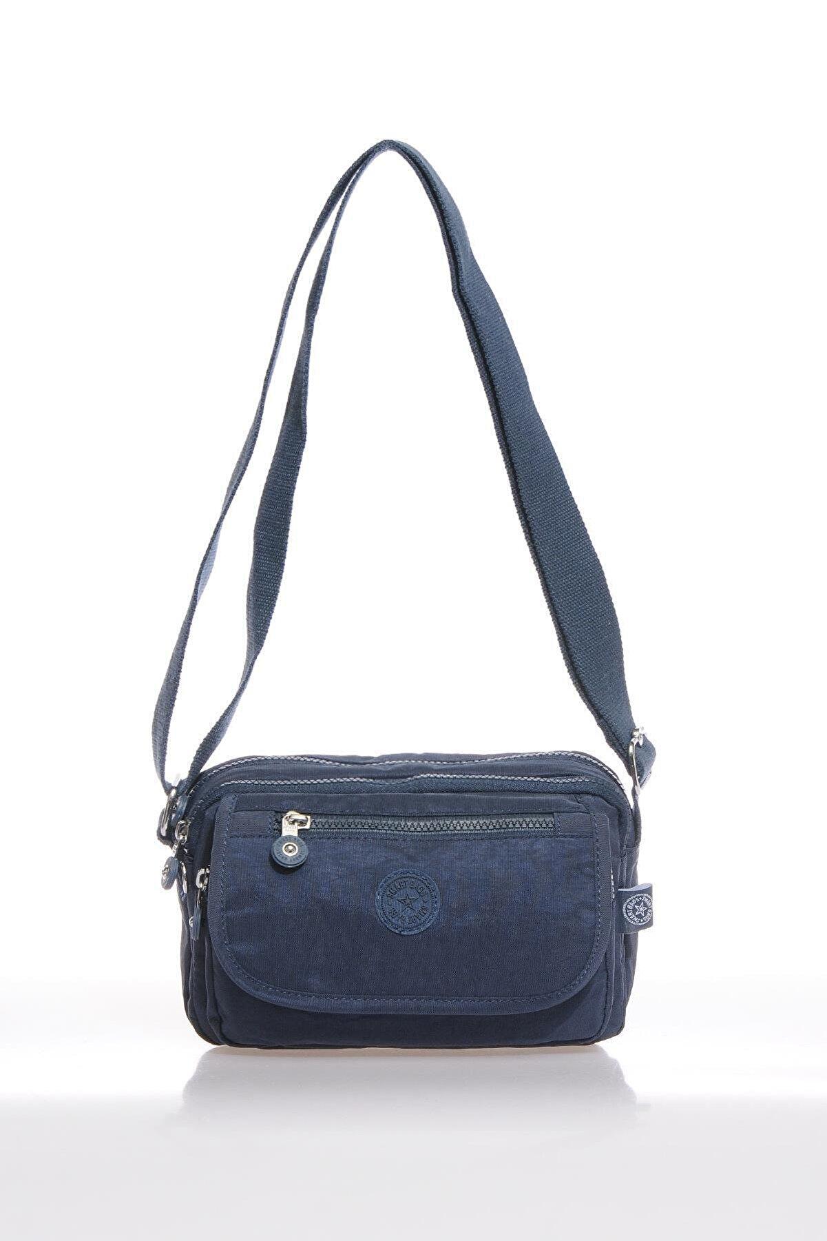Smart Bags Kadın Lacivert Çapraz Çanta Smb1189-0033