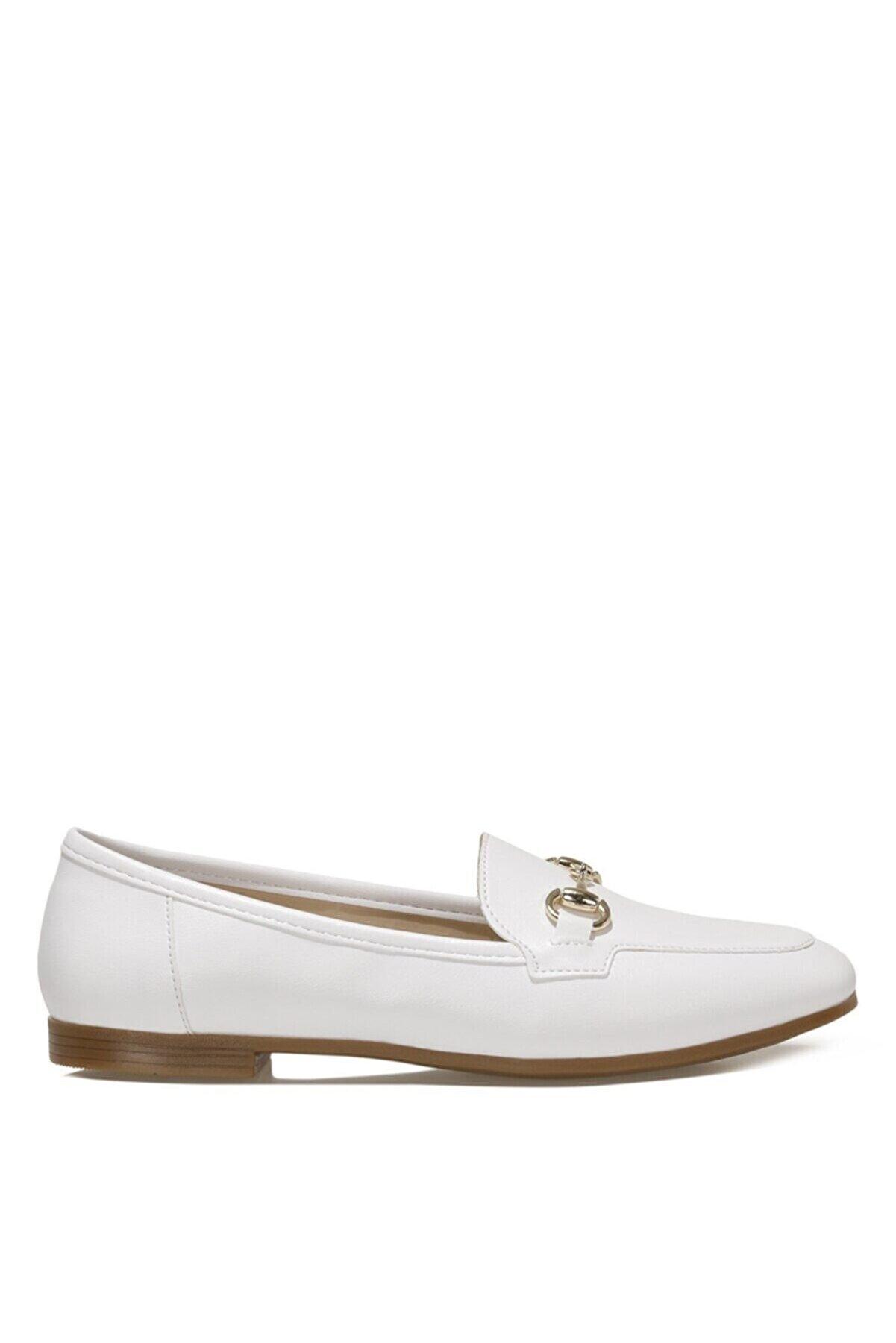 İnci SIMA.Z 1FX Beyaz Kadın Loafer Ayakkabı 101038462