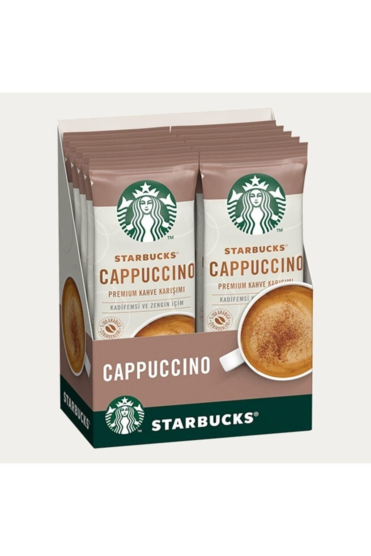 Coffee Starbucks Cappuccino Sınırlı Üretim Premium Kahve Karışımı Seti (10 Adet)