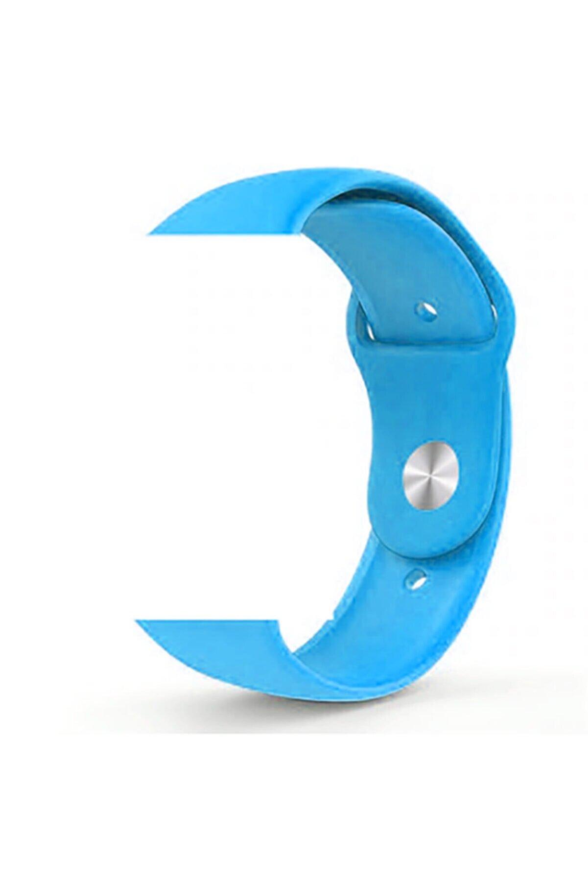 Apple Watch 6 Silikon Kordon Yumuşak Ve Pürüzsüz 44mm Klasik