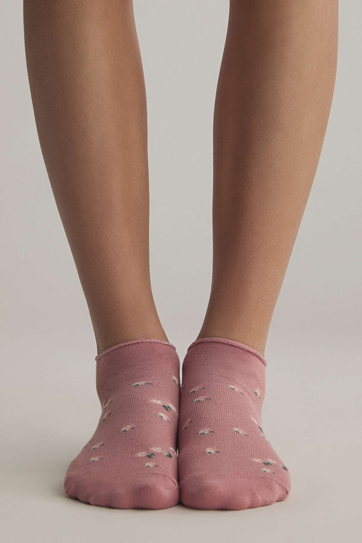 Oysho Kadın Pamuklu Bilek Boyu Çorap 5 Çift