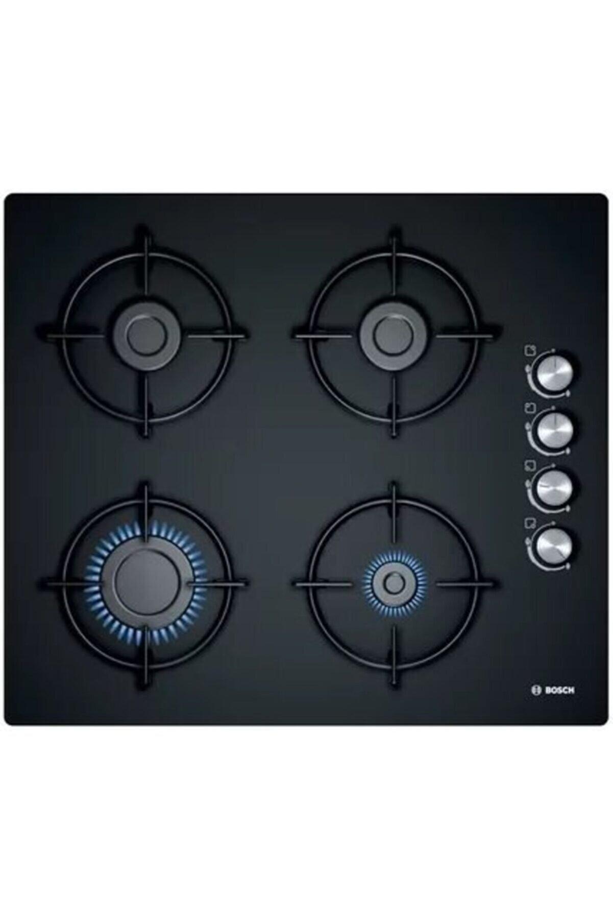 Bosch POP6C6O10O Doğalgazlı Siyah Cam Ankastre Ocak
