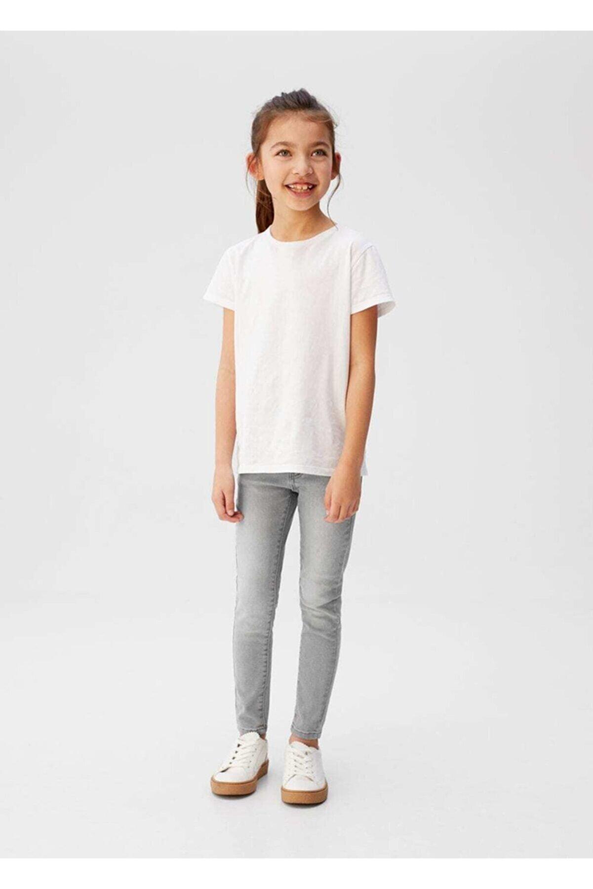 Mango Kız Çocuk Skinny jean pantolon