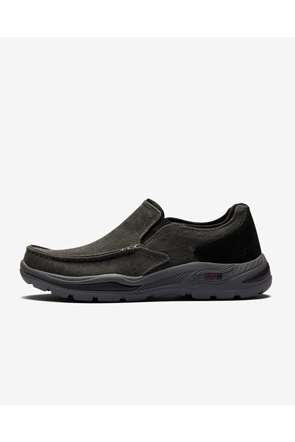 Skechers ARCH FIT MOTLEY - ROLENS Erkek Siyah Günlük Ayakkabı
