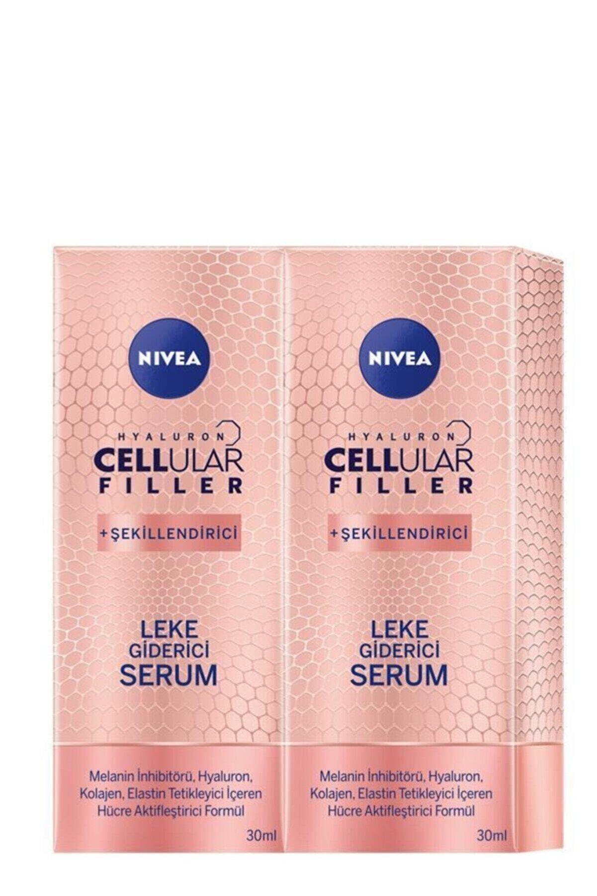 Nivea Hyaluron Cellular Filler Leke Giderici Serum 30 ml X 2