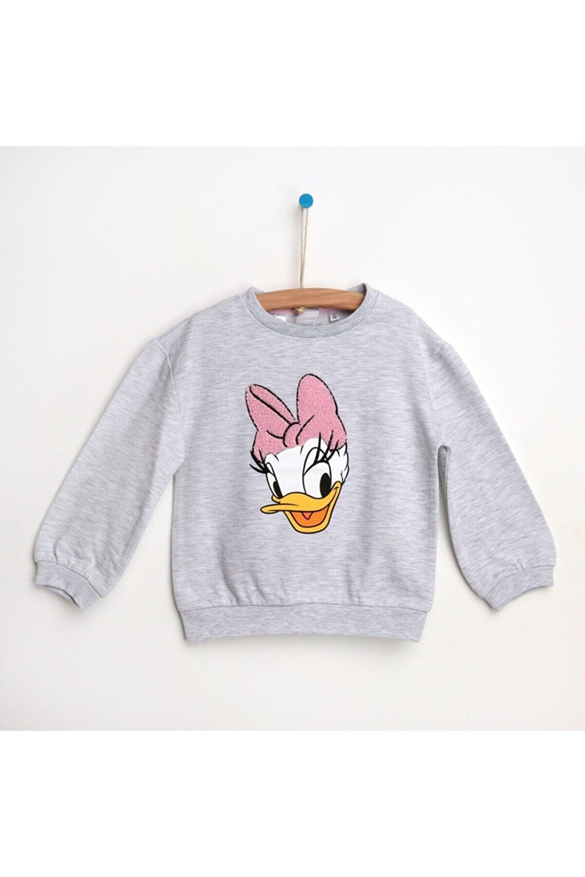 DİSNEY Unisex Bebek Daisy Duck Sweatshirt