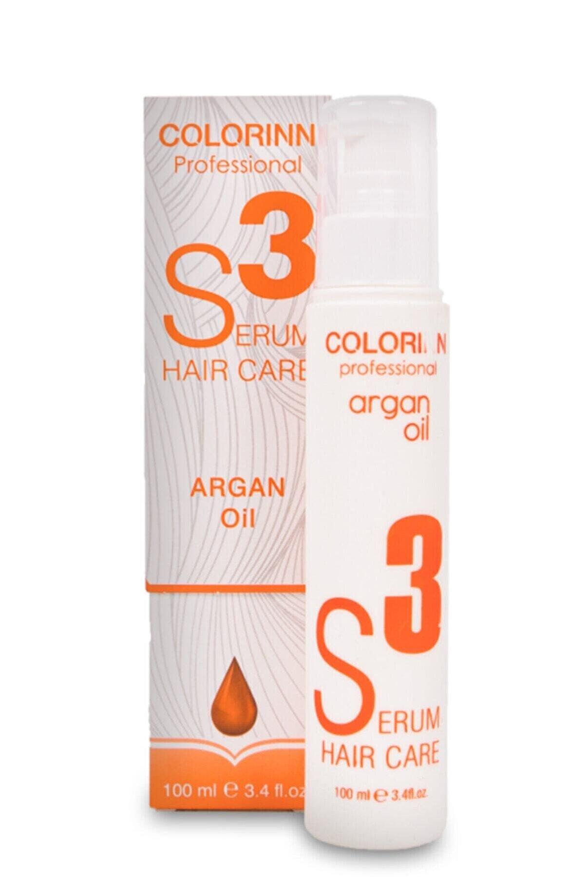 Colorinn S3 Argan Yağlı Saç Bakım Serumu 100 ml