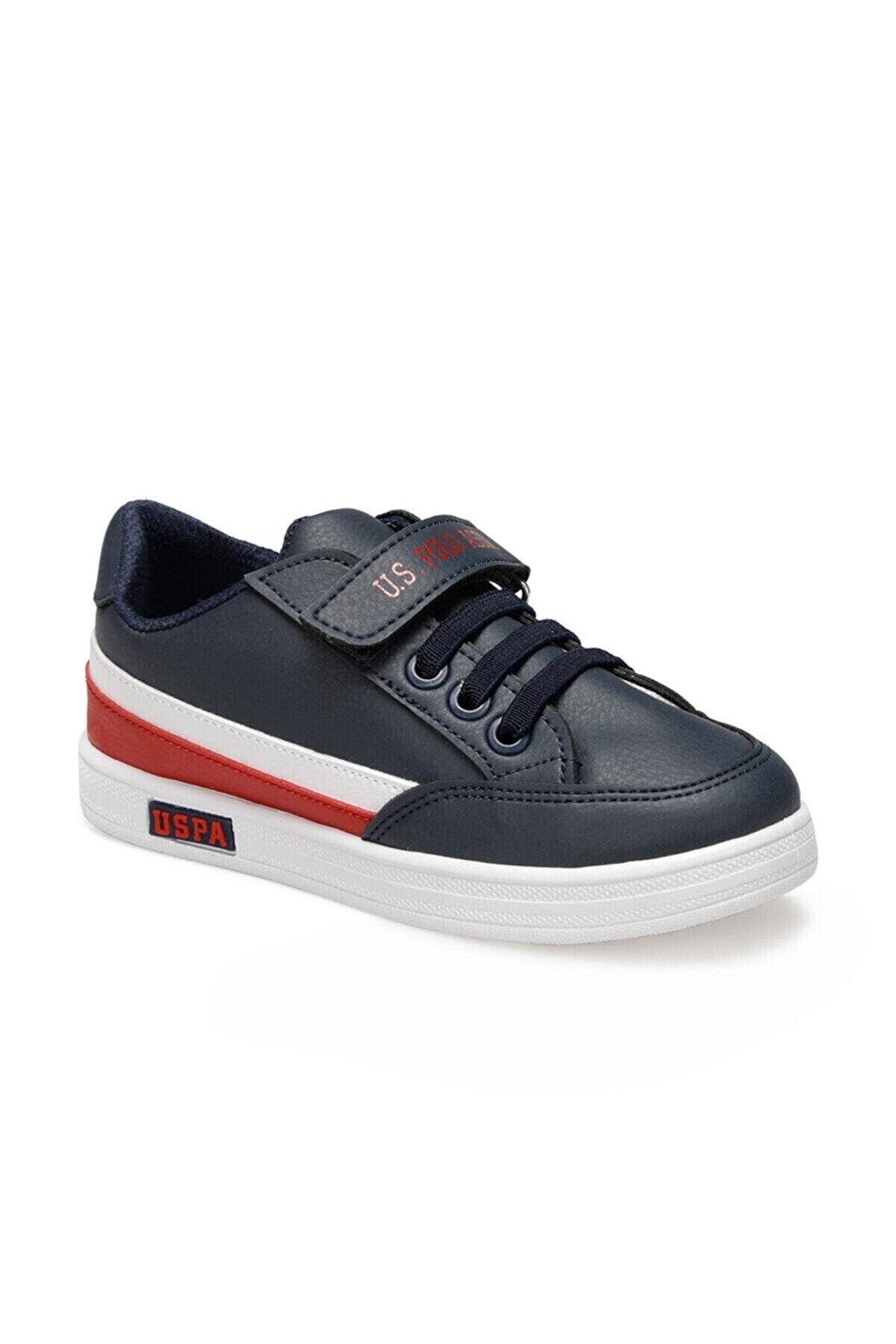 US Polo Assn JAMAL 9PR Lacivert Erkek Çocuk Sneaker Ayakkabı 100429392