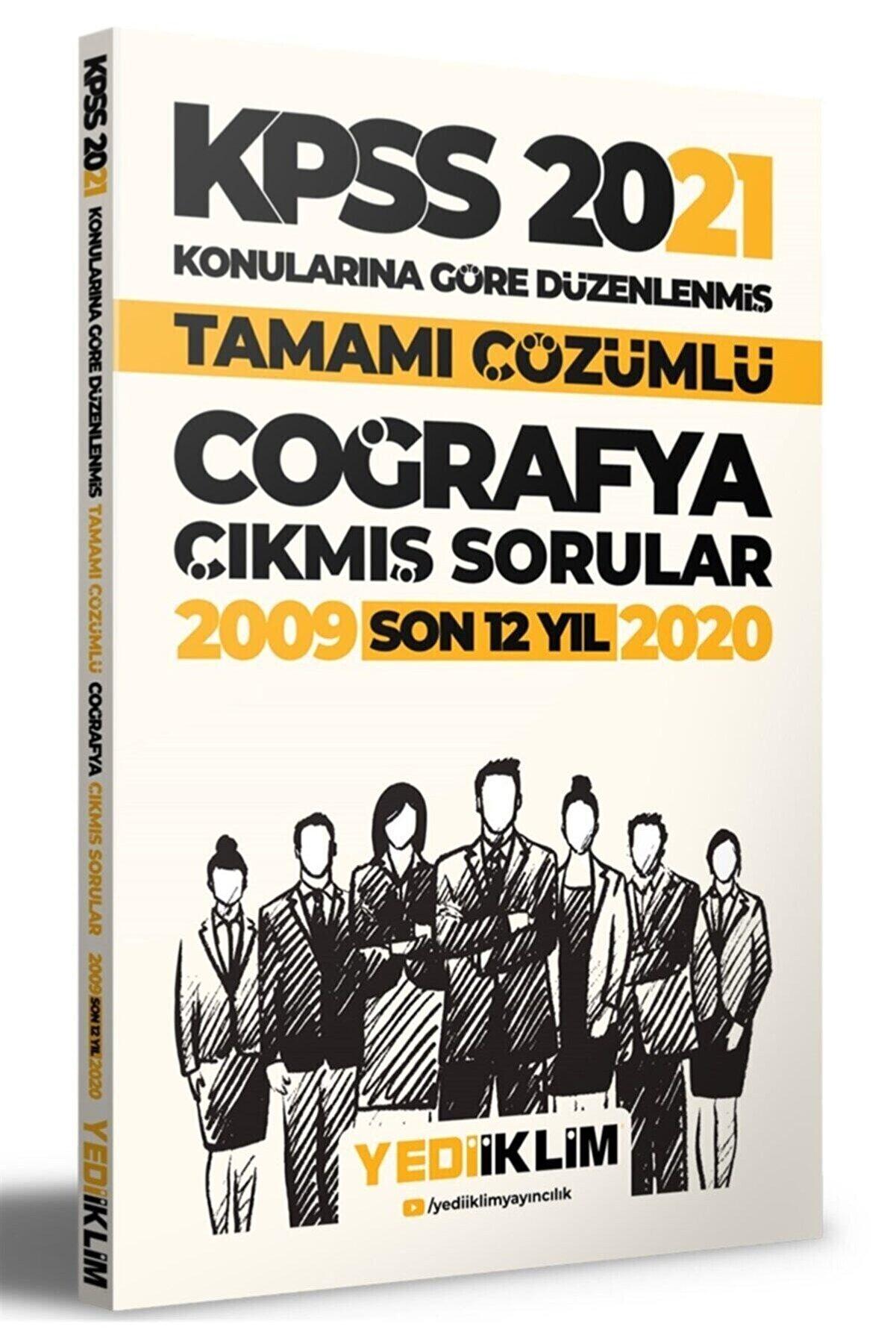 Yediiklim Yayınları 2021 Kpss Genel Kültür Coğrafya Konularına Göre Tamamı Çözümlü Çıkmış