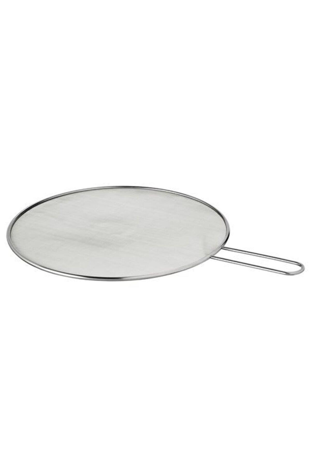 IKEA Yağ Sıçratmaz Pratik Mutfak Gereci Meridyendukkan 34 Cm Çelik Adet