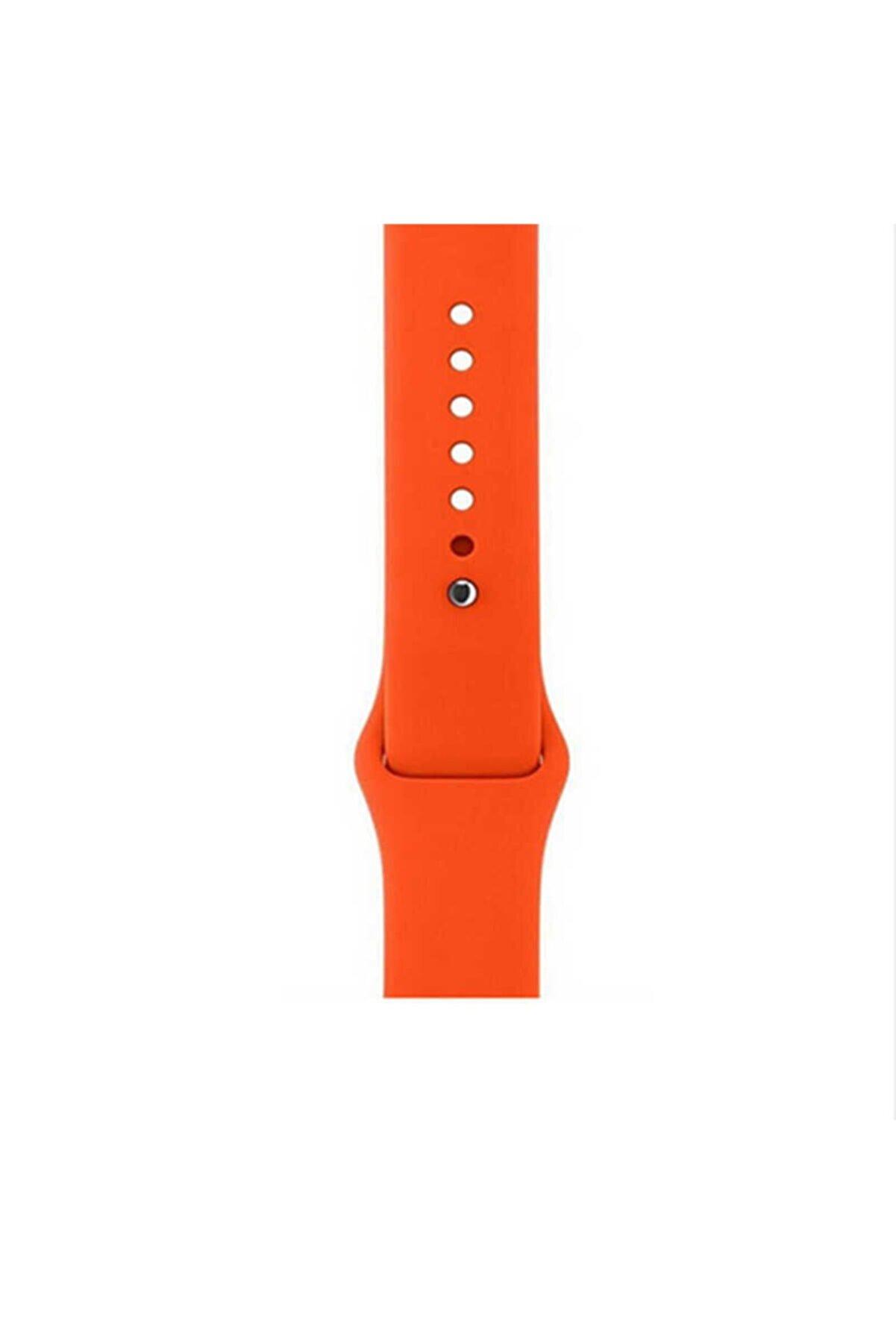 Apple Watch 6 Silikon Kordon Yumuşak Ve Pürüzsüz 40mm Klasik