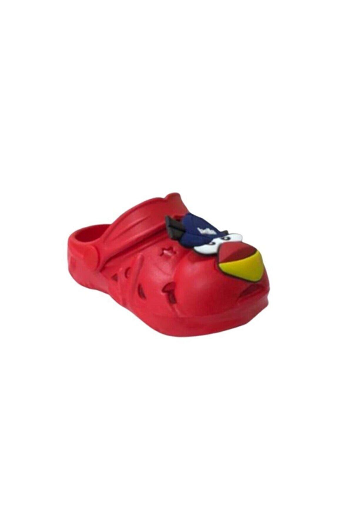 Akınalbella Unisex  Kırmızı Çocuk Sandalet/ Terlik