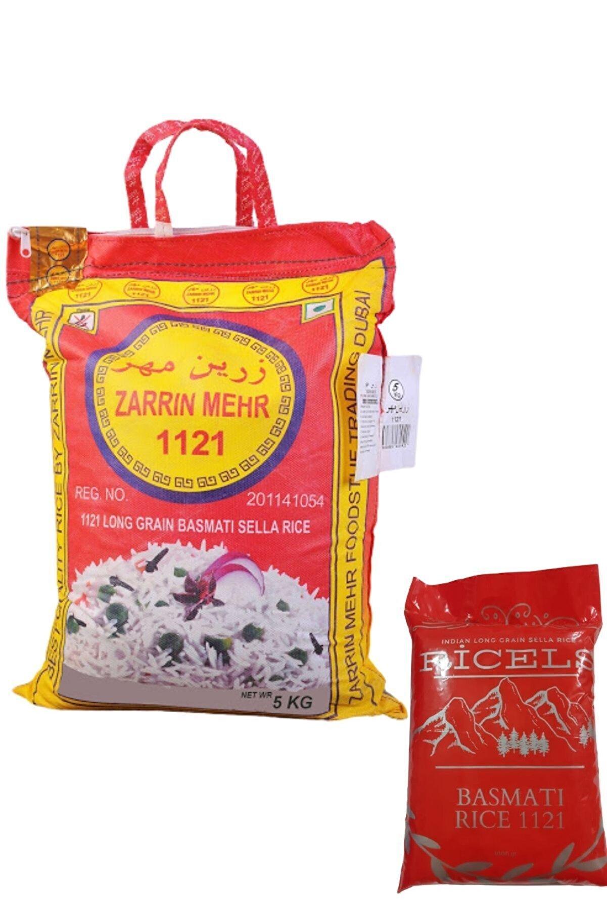 Zarrin Mehr Hint Pirinci Zerrin Basmati Pirinç 10 kg