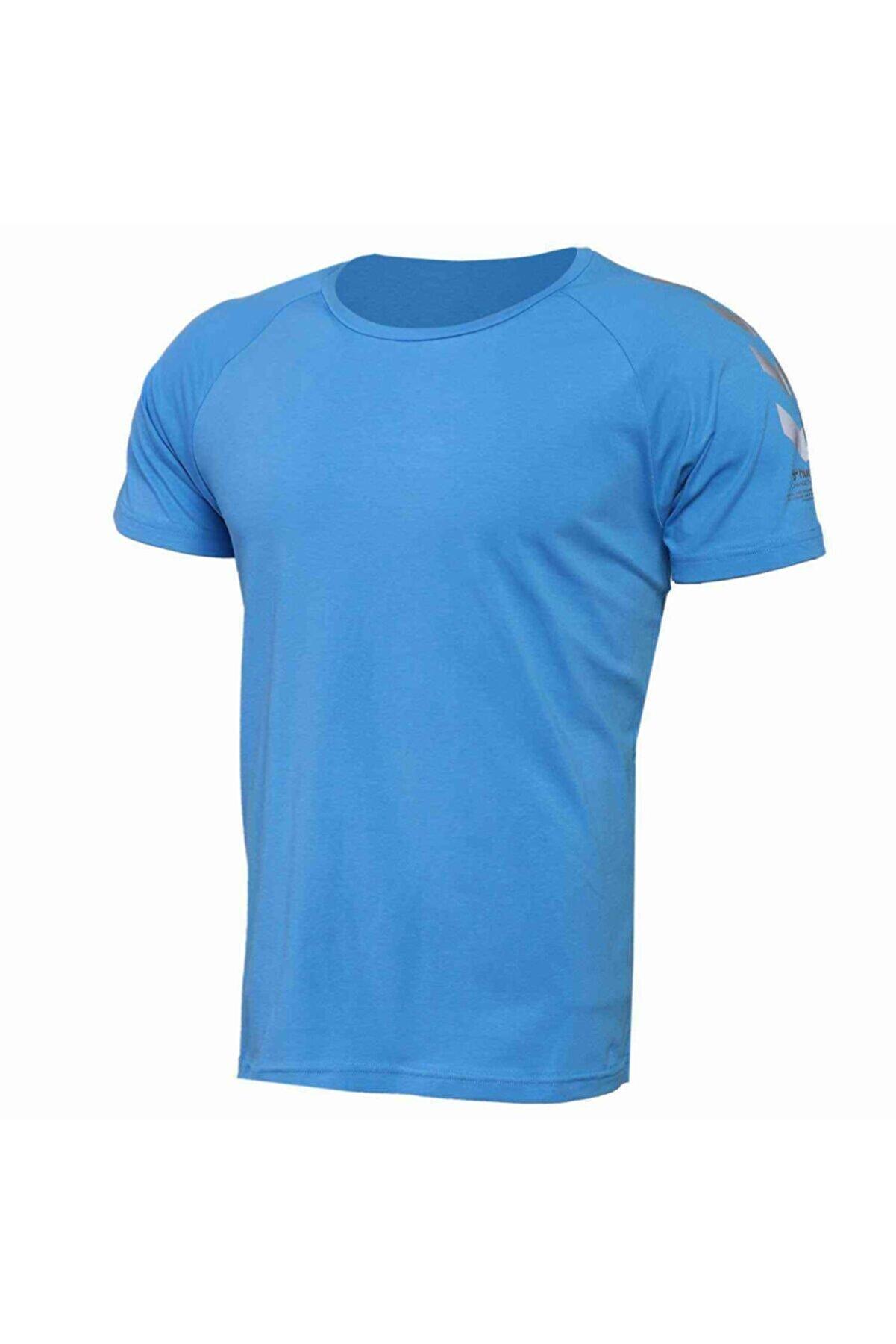 HUMMEL HMLPETTE T-SHIRT S/S Mavi Erkek T-Shirt 101086320