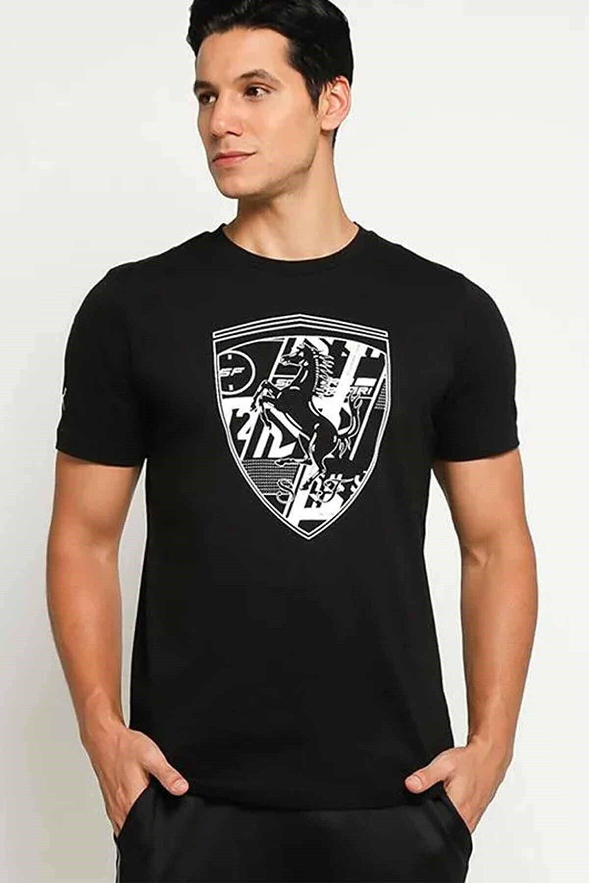 Puma Bıg Shıeld Tee Tişört 595433-02