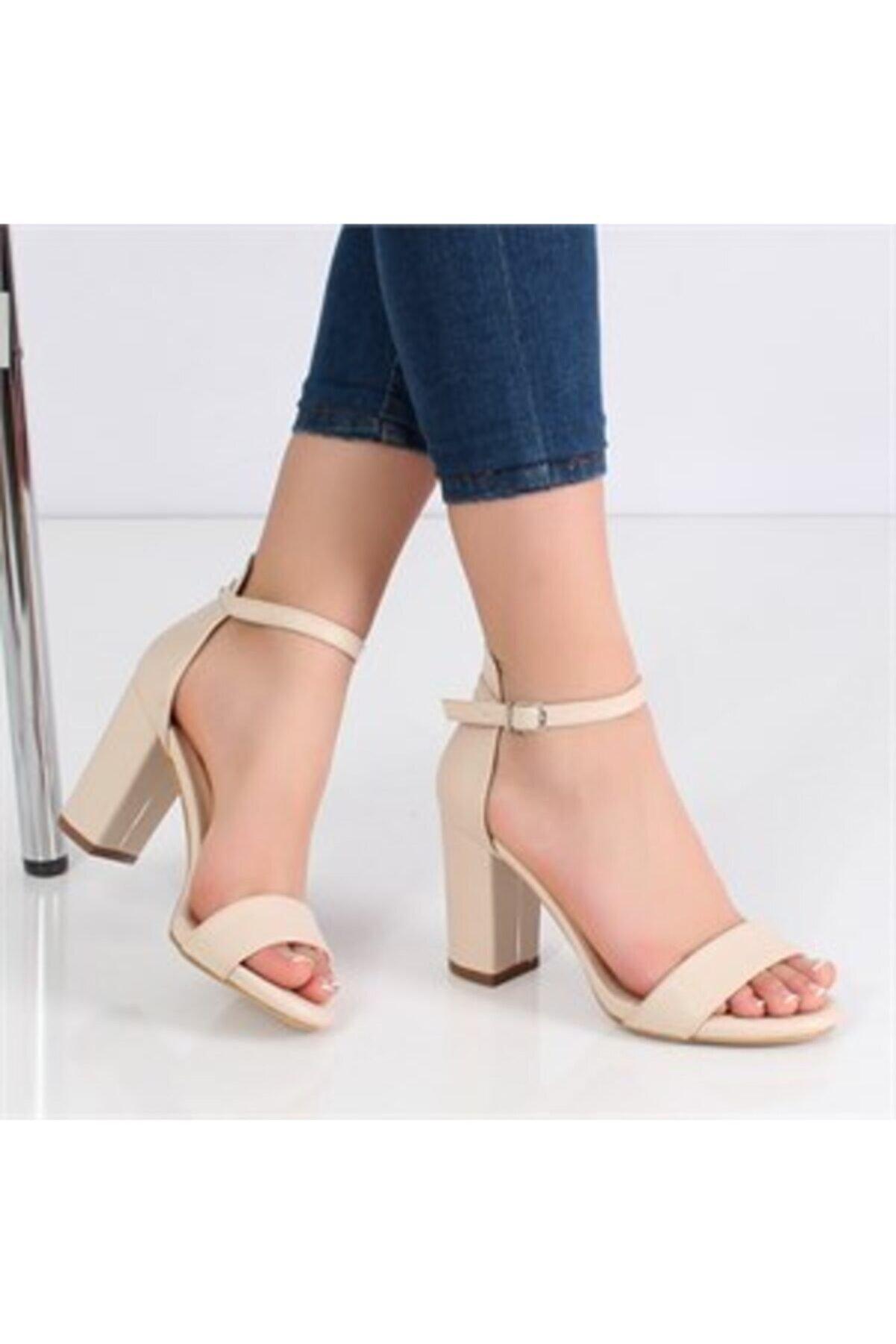 Alptekin Vizon Kadın Klasik Topuklu Ayakkabı