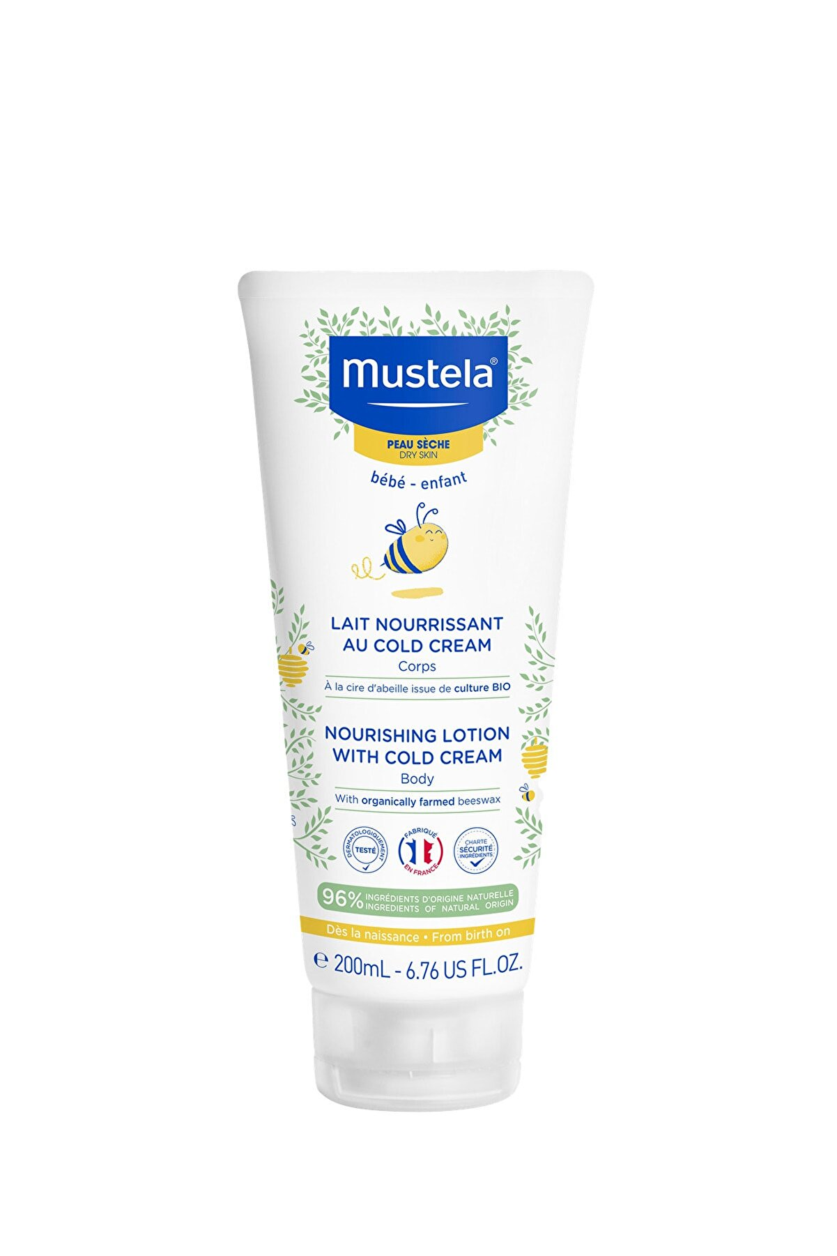 Mustela Body Lotion With Cold Cream 200ml