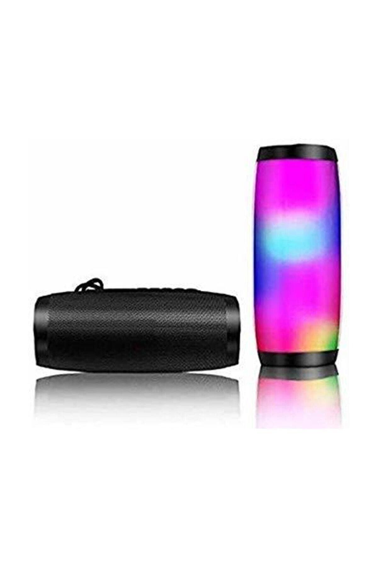 Polygold Teknomarketim Kablosuz Hoparlör Bluetooth Speaker Işıklı Ses Bombası Tg 157 Siyah