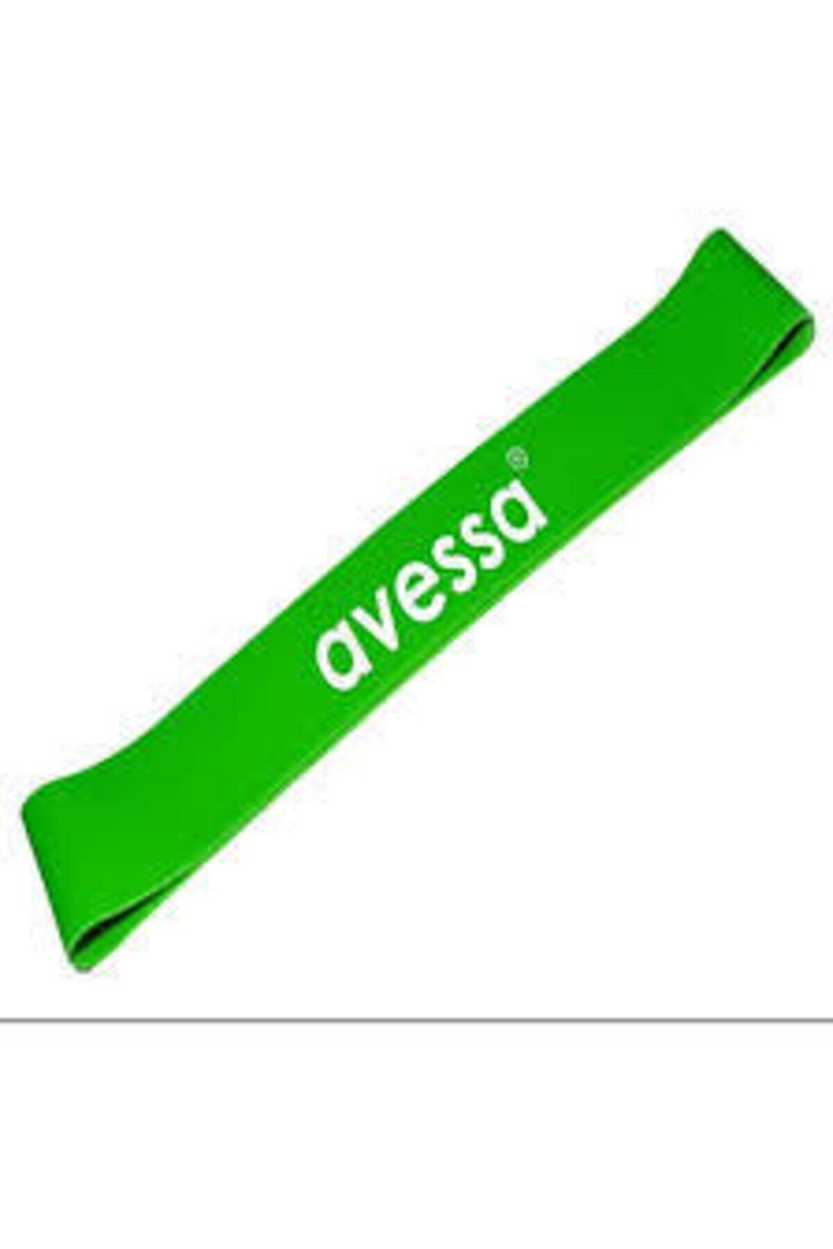 Avessa Latex Aerobik Band Orta Sertlik Yeşil Renk Lab 200