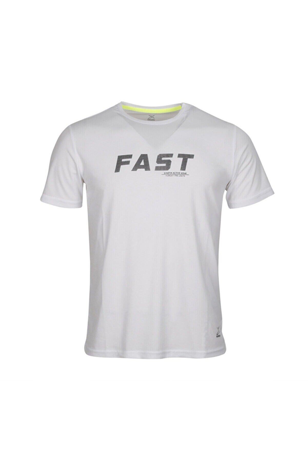 Kinetix M-18060 WİLTON KK TSHIRT Beyaz Erkek T-Shirt 100664480