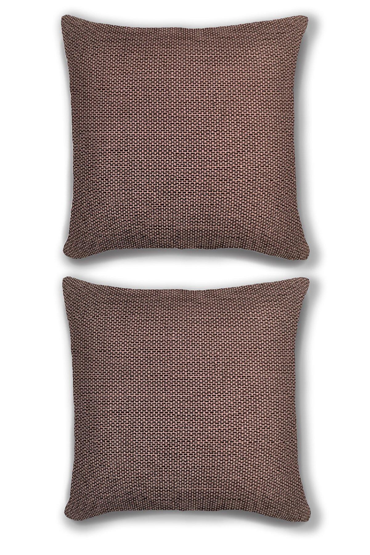 We Home 2'li Yastık Kırlent Kılıfı Kombini Premium Yumuşak Kumaş 45x45