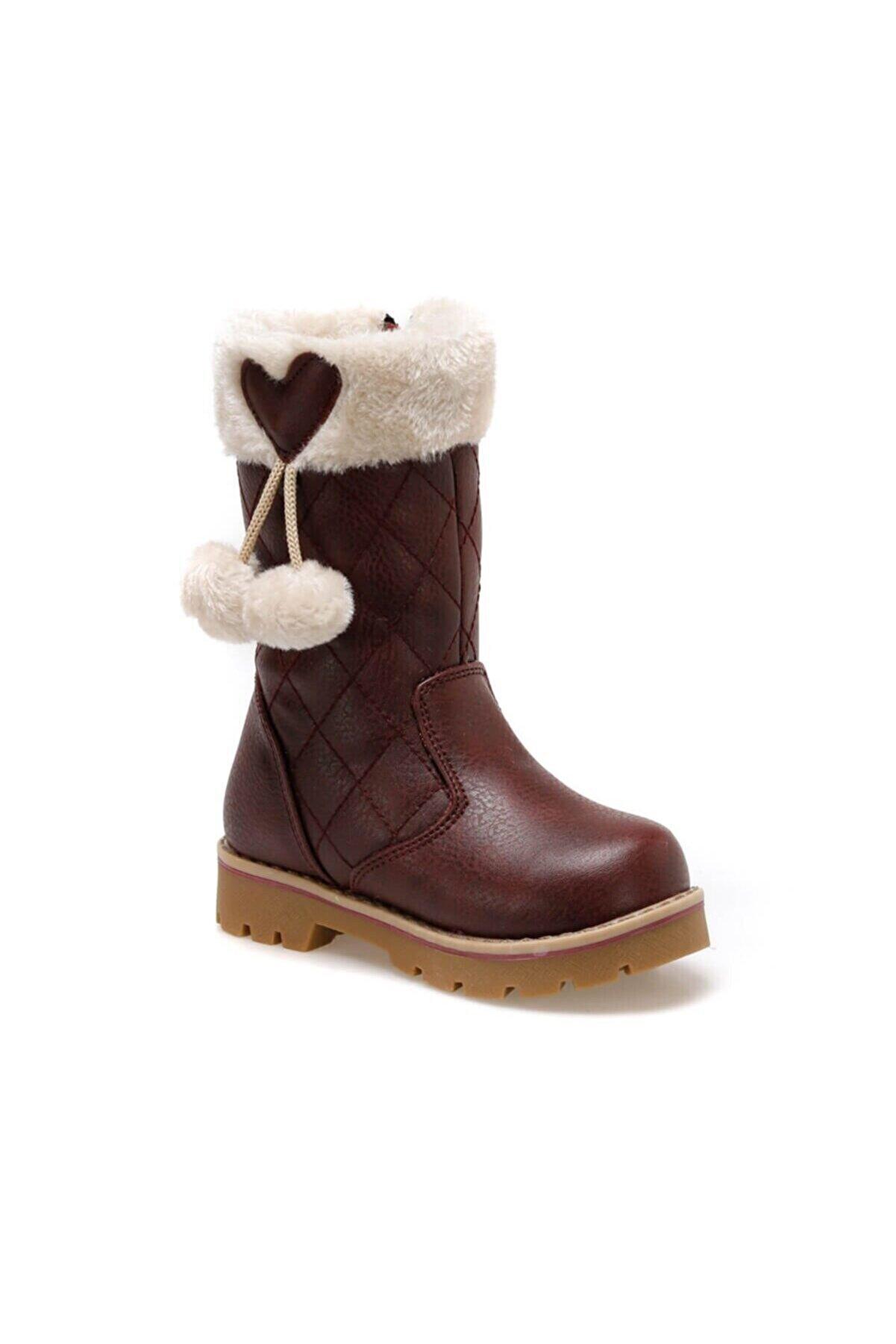 Polaris 92.509618.P Bordo Kız Çocuk Basic Casual Ayakkabı 100422666