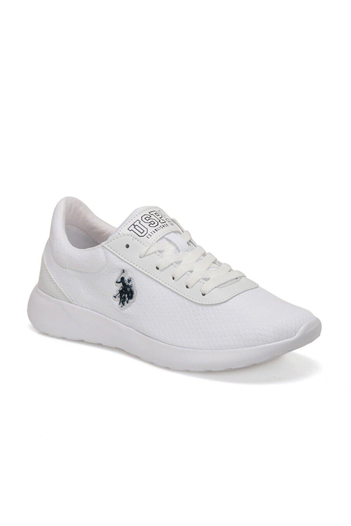 US Polo Assn RAINY Beyaz Kadın Sneaker Ayakkabı 100489756