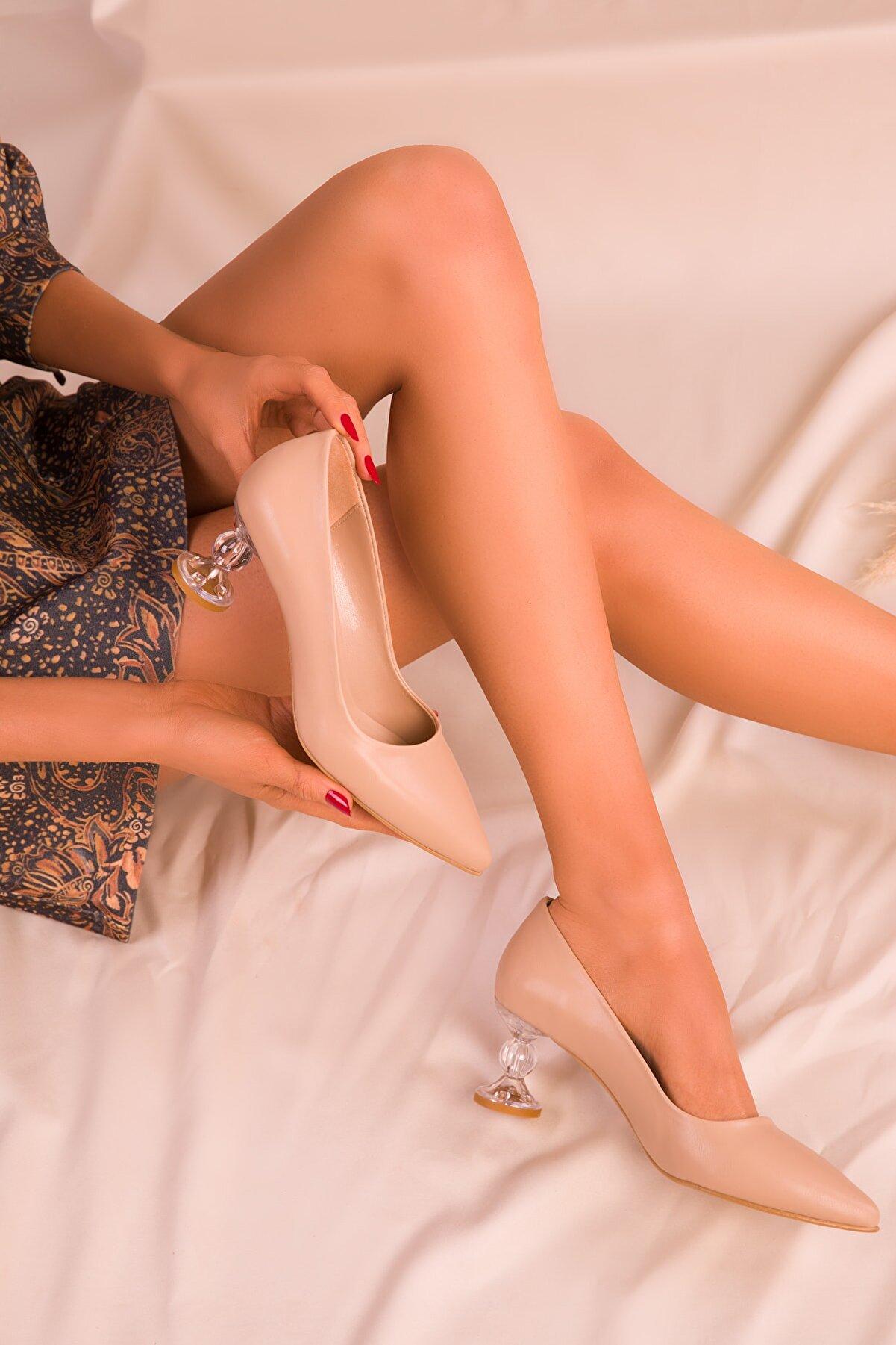 Soho Exclusive Ten Kadın Klasik Topuklu Ayakkabı 16139
