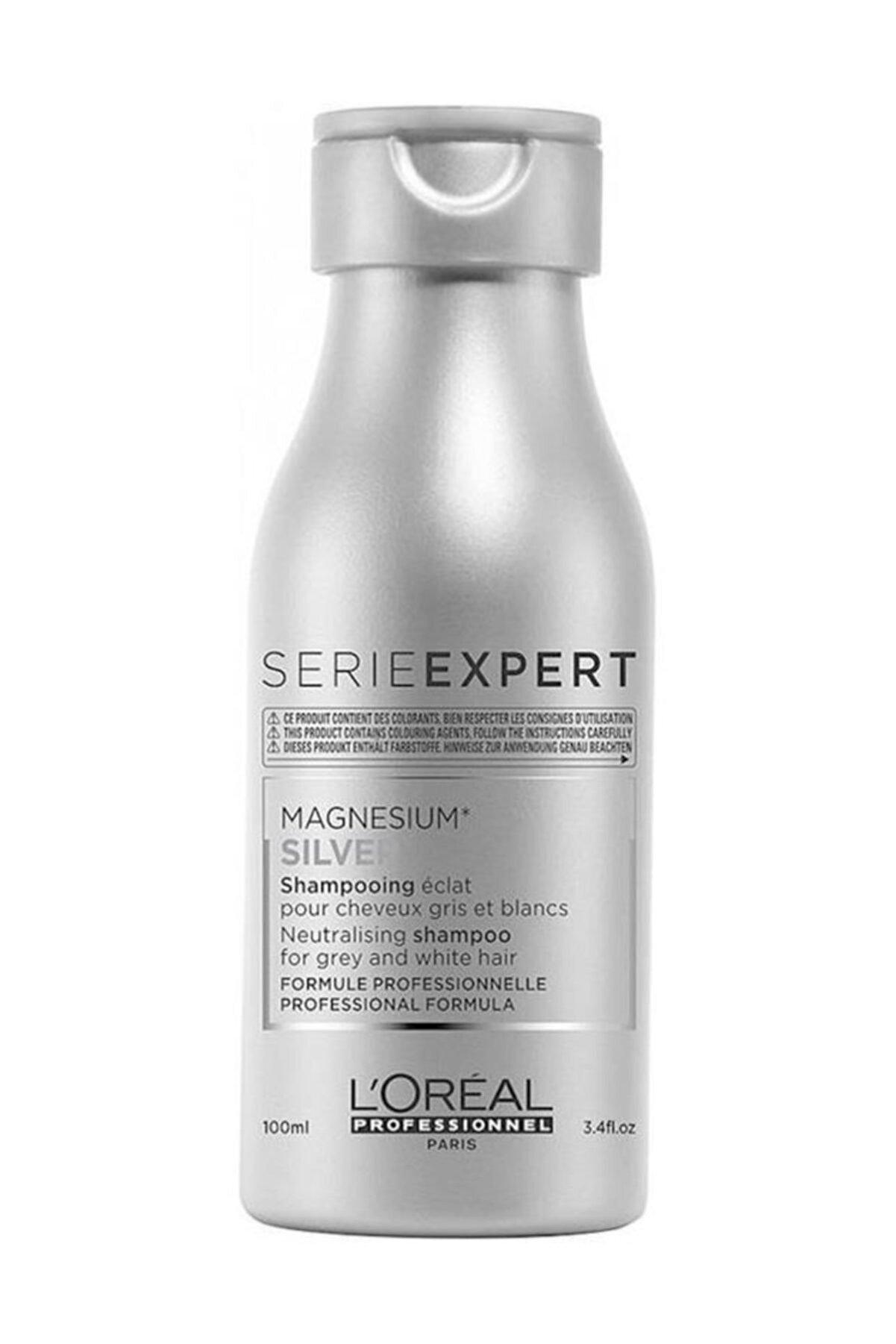 L'oreal Professionnel Magnesium Silver Şampuan 100 ml 3474636569229