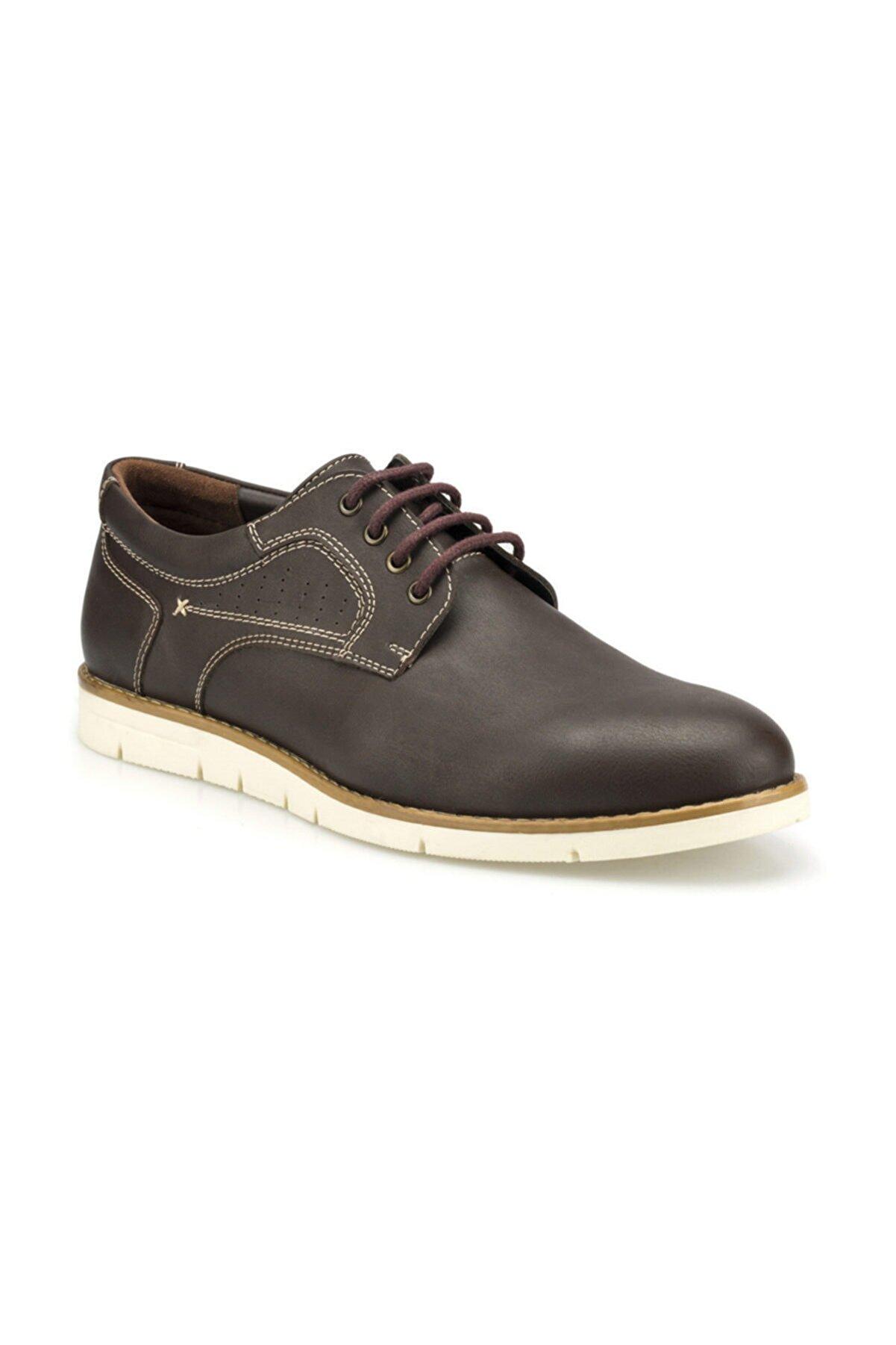 Polaris 160018.M Kahverengi Erkek Klasik Ayakkabı 100501752