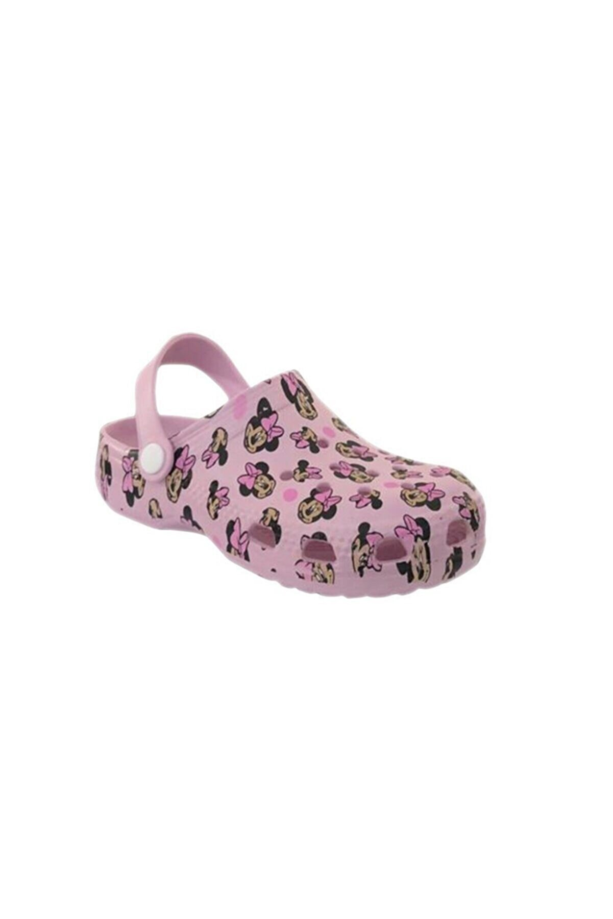 Akınalbella Kız Çocuk Pudra Mickey Mouse Havuz/deniz Terlik Sandalet E012
