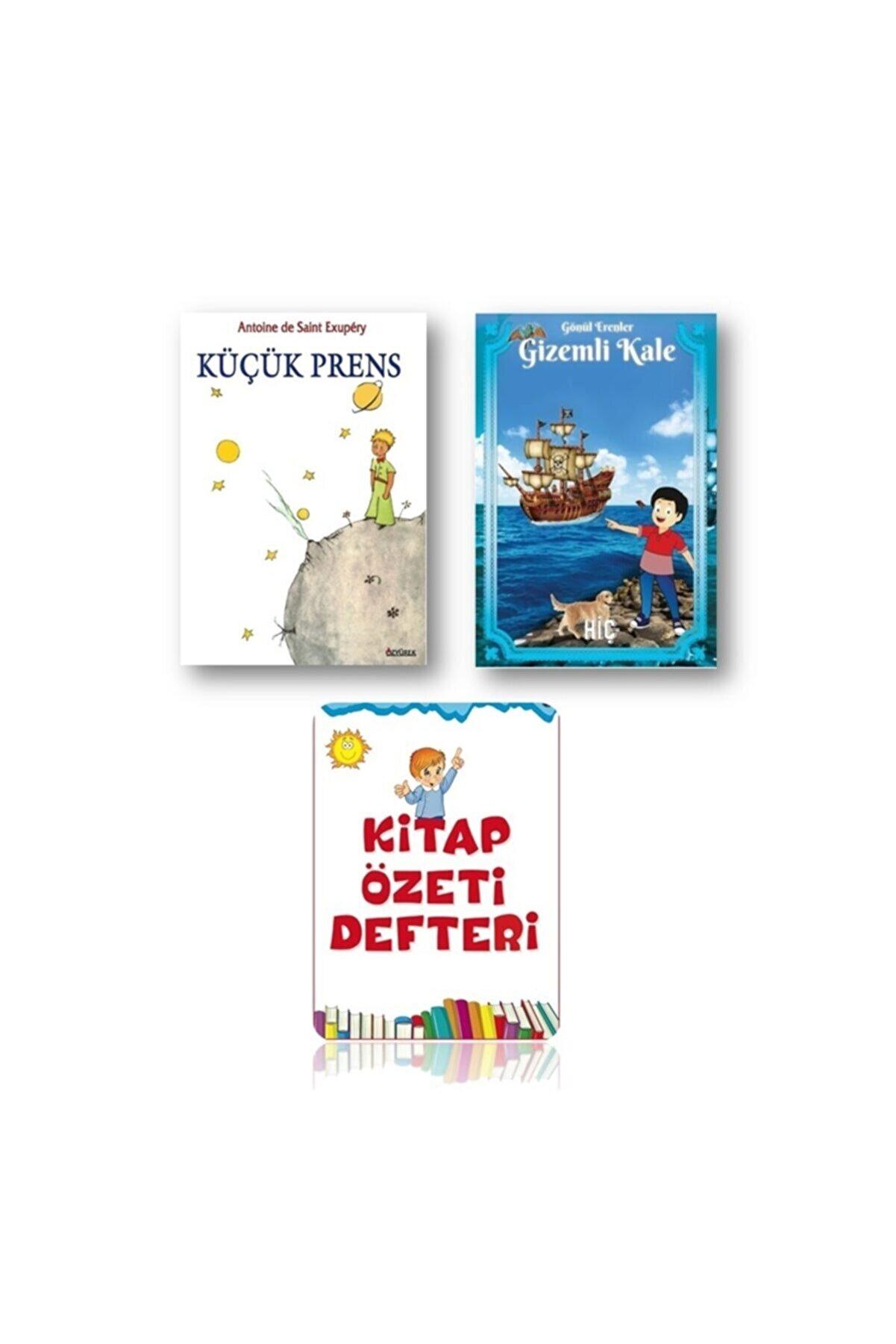 Özyürek Yayınları Küçük Prens - Kitap Özeti Defteri - Gizemli Kale (3 Kitap)
