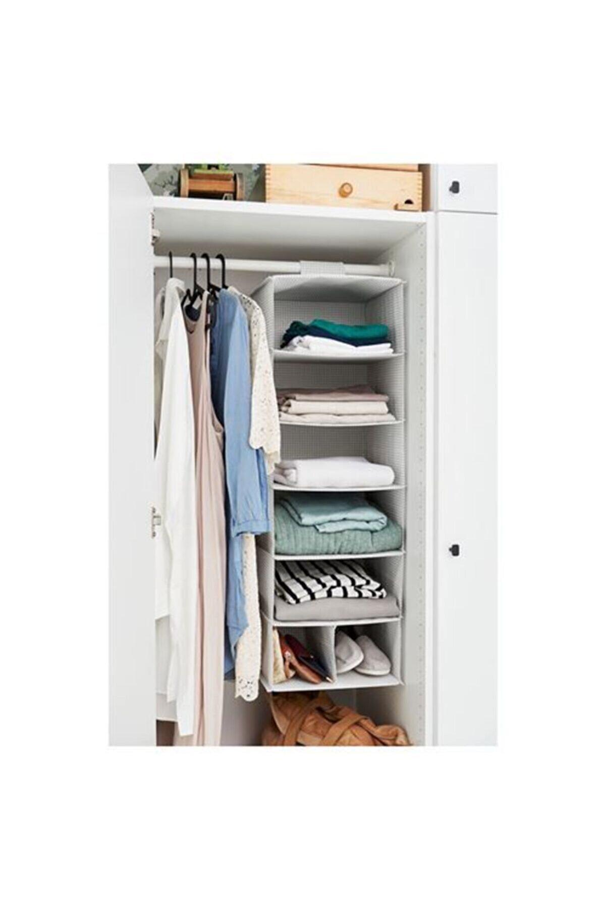 IKEA Stuk Bölmeli Düzenleyici, Beyaz-gri