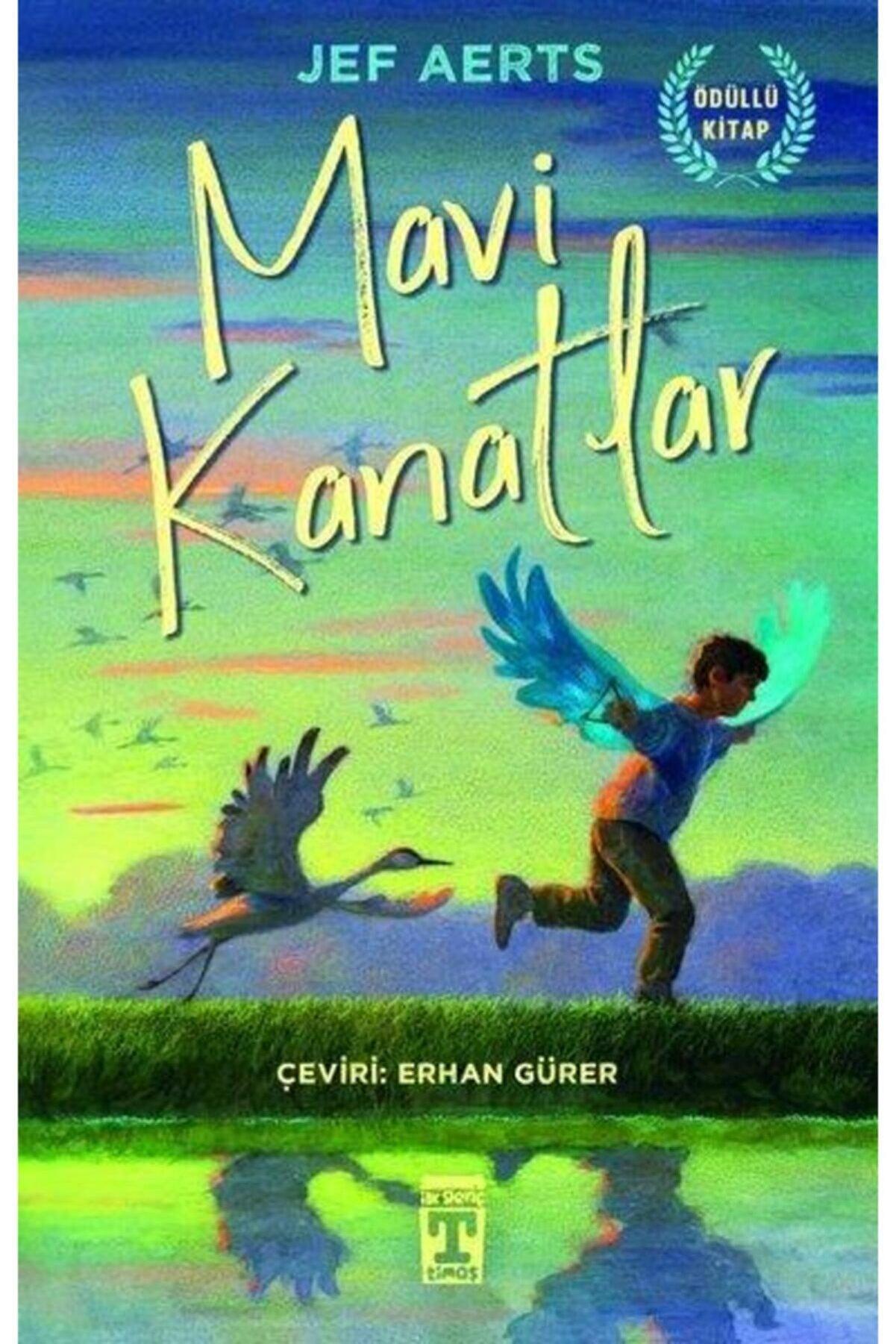 Genç Timaş Mavi Kanatlar - Jef Aerts - Ilk Genç Timaş Yayınları