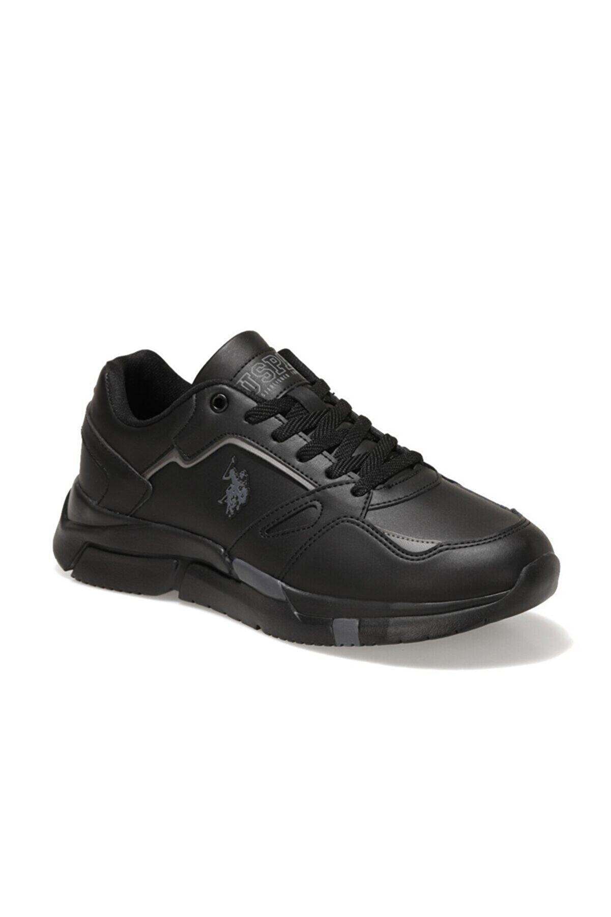 US Polo Assn HOLD Siyah Erkek Sneaker Ayakkabı 100604259