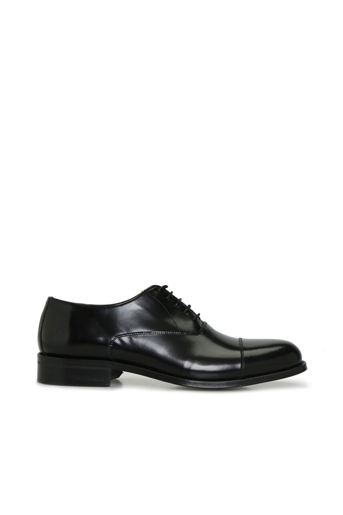 George Hogg Erkek Siyah Klasik Ayakkabı