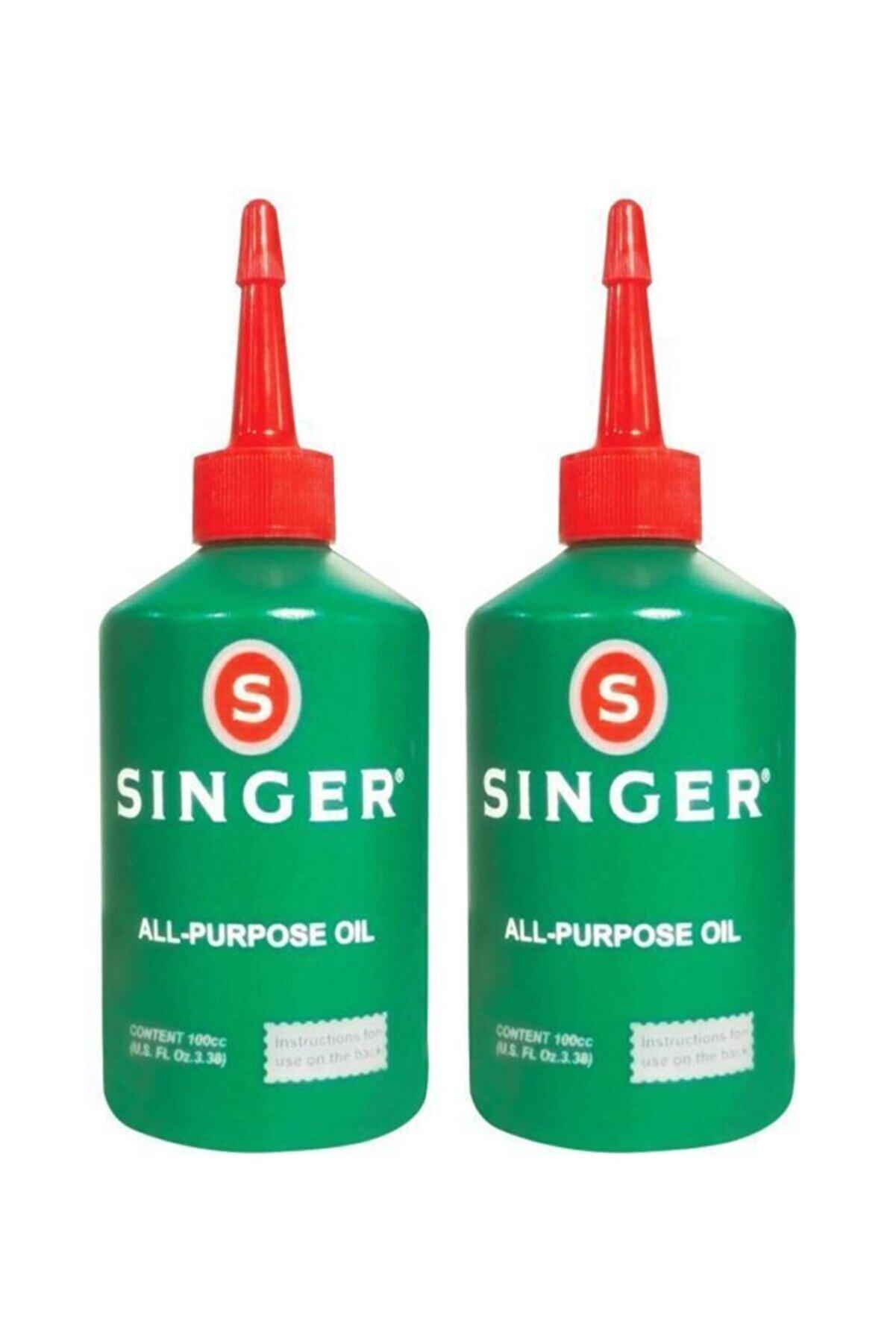SINGER Yağ - Makine Yağı 2 Adet 100 ml