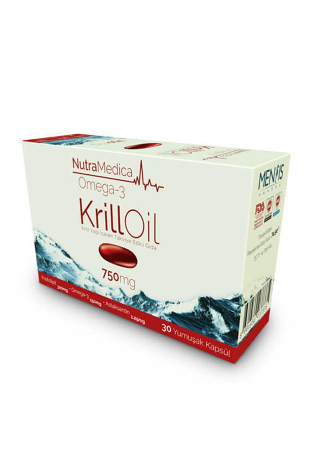 Mensis Pharma Nutramedica Krill Oil 750 Mg 30 Kapsül