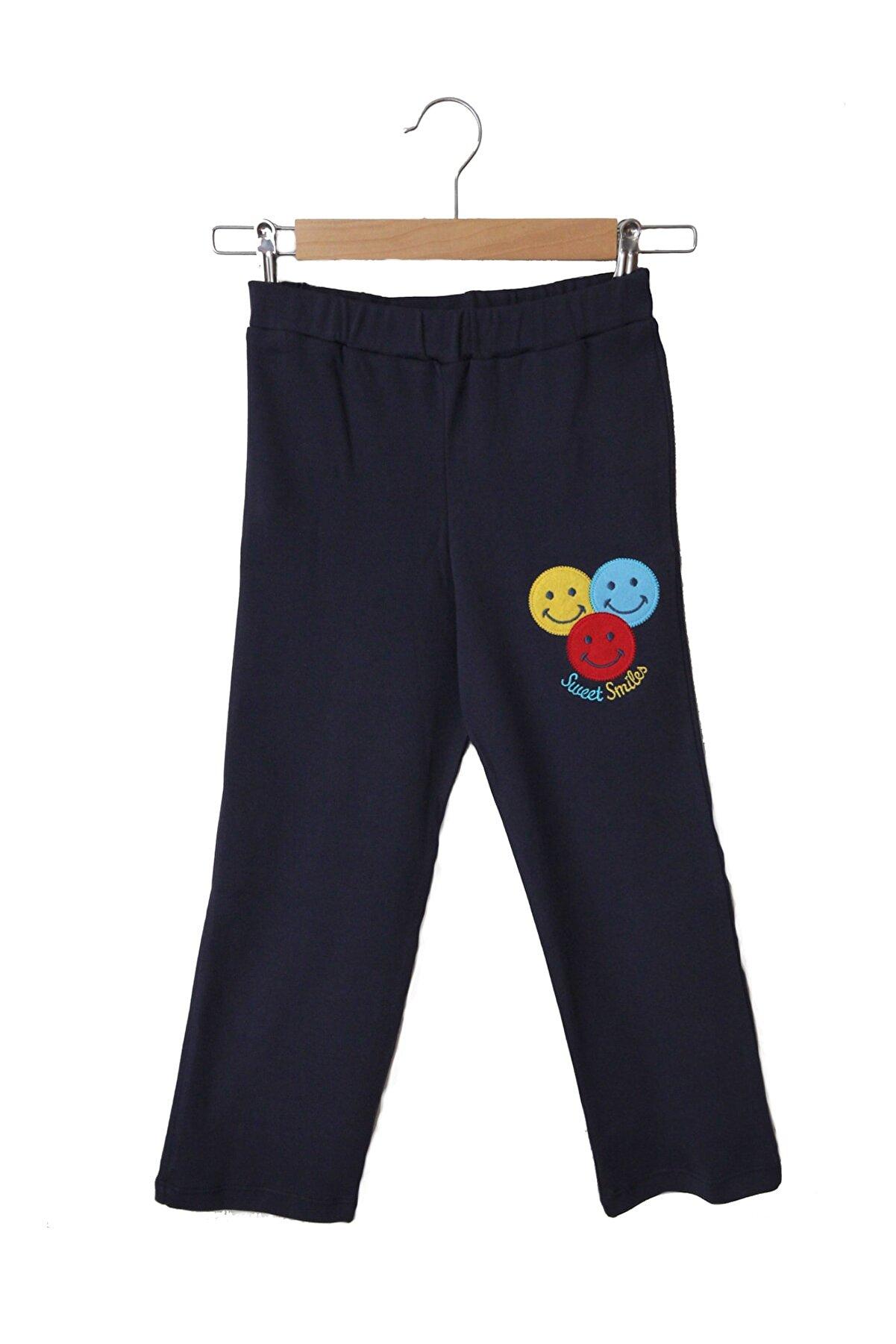 Pijama Denizi Unisex Çocuk Yüzde Yüz Pamuk Eşofman Pijama Altı