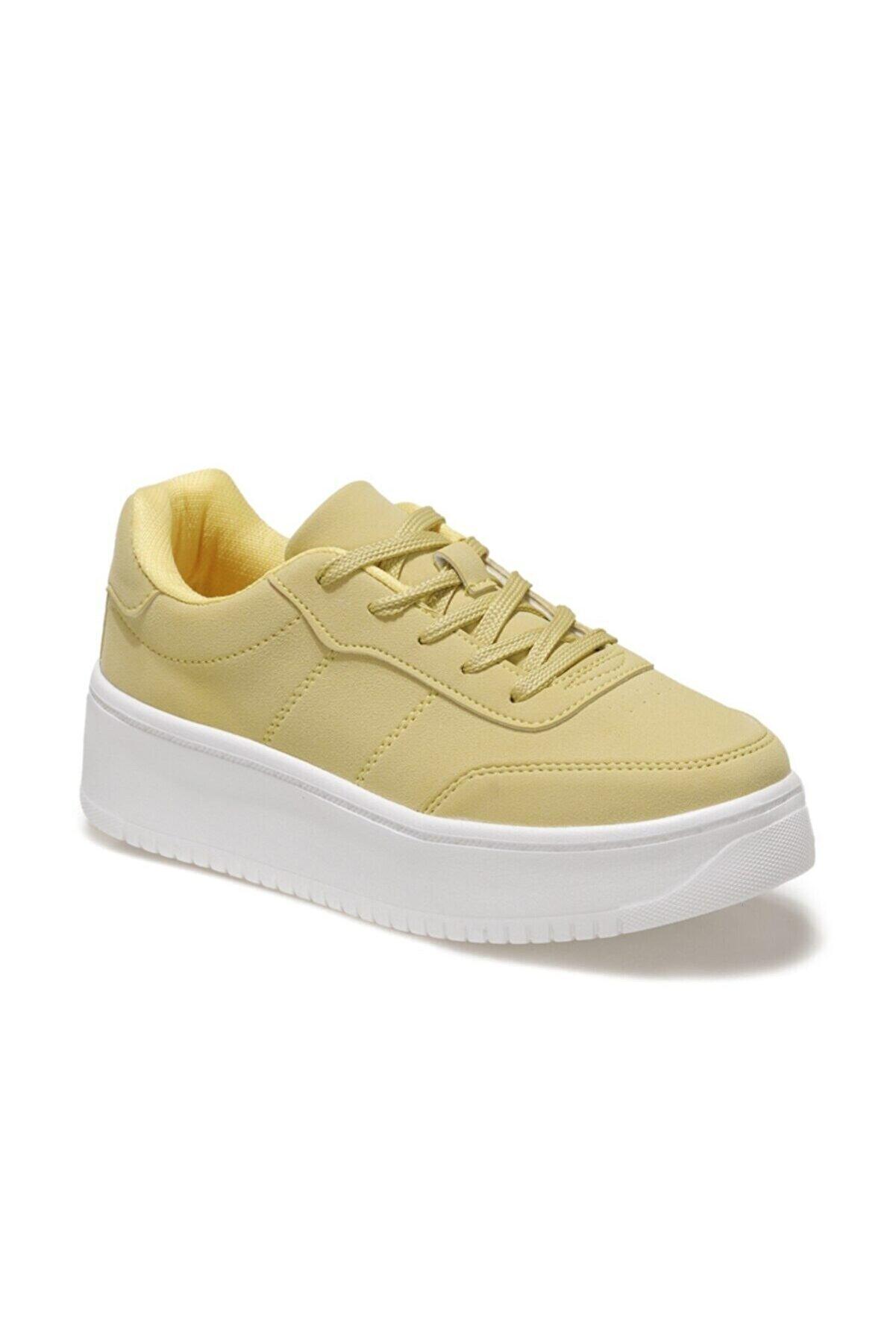 Kinetix LIZA 1FX Sarı Kadın Havuz Taban Sneaker 100586945