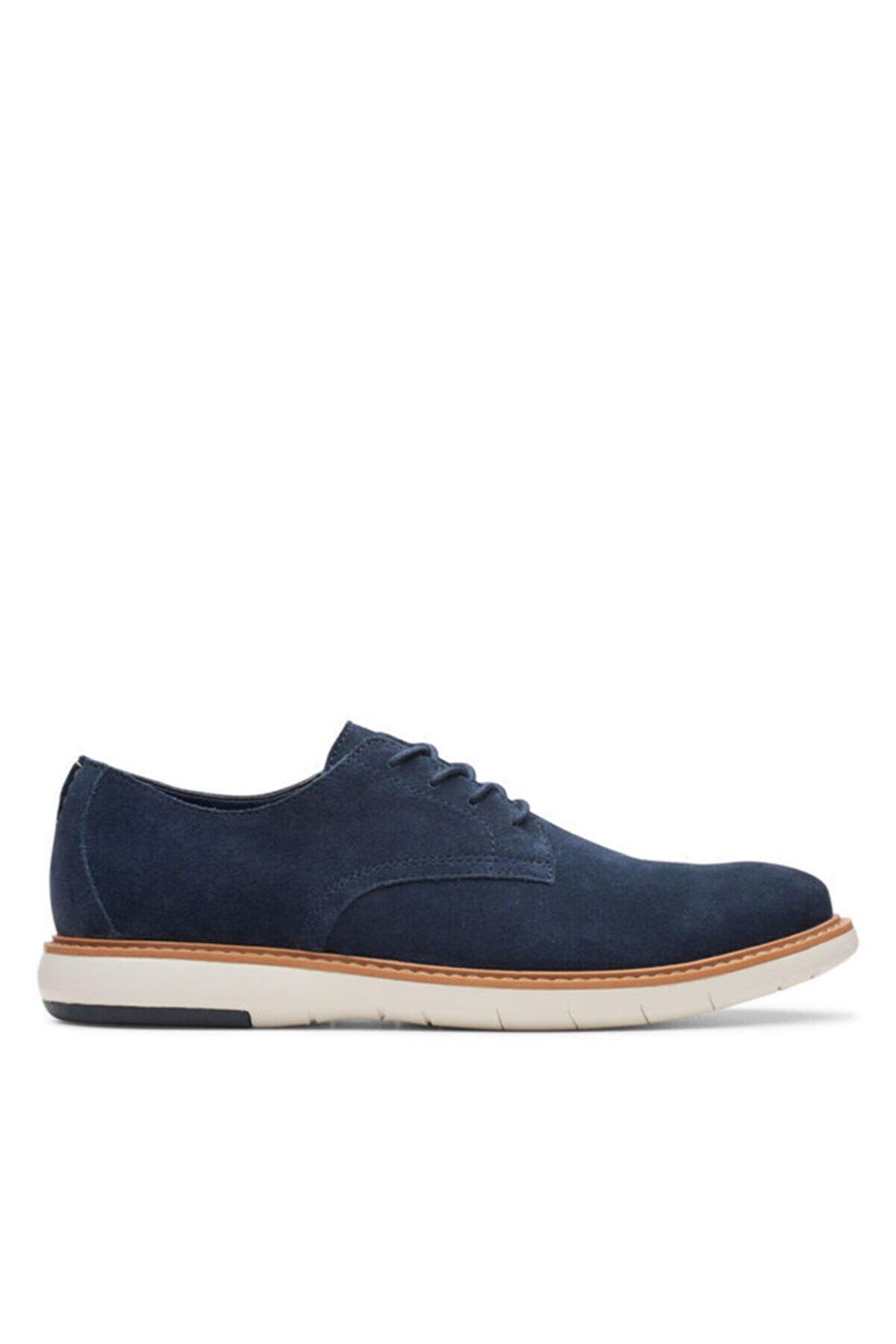 CLARKS Erkek Lacivert Ayakkabı