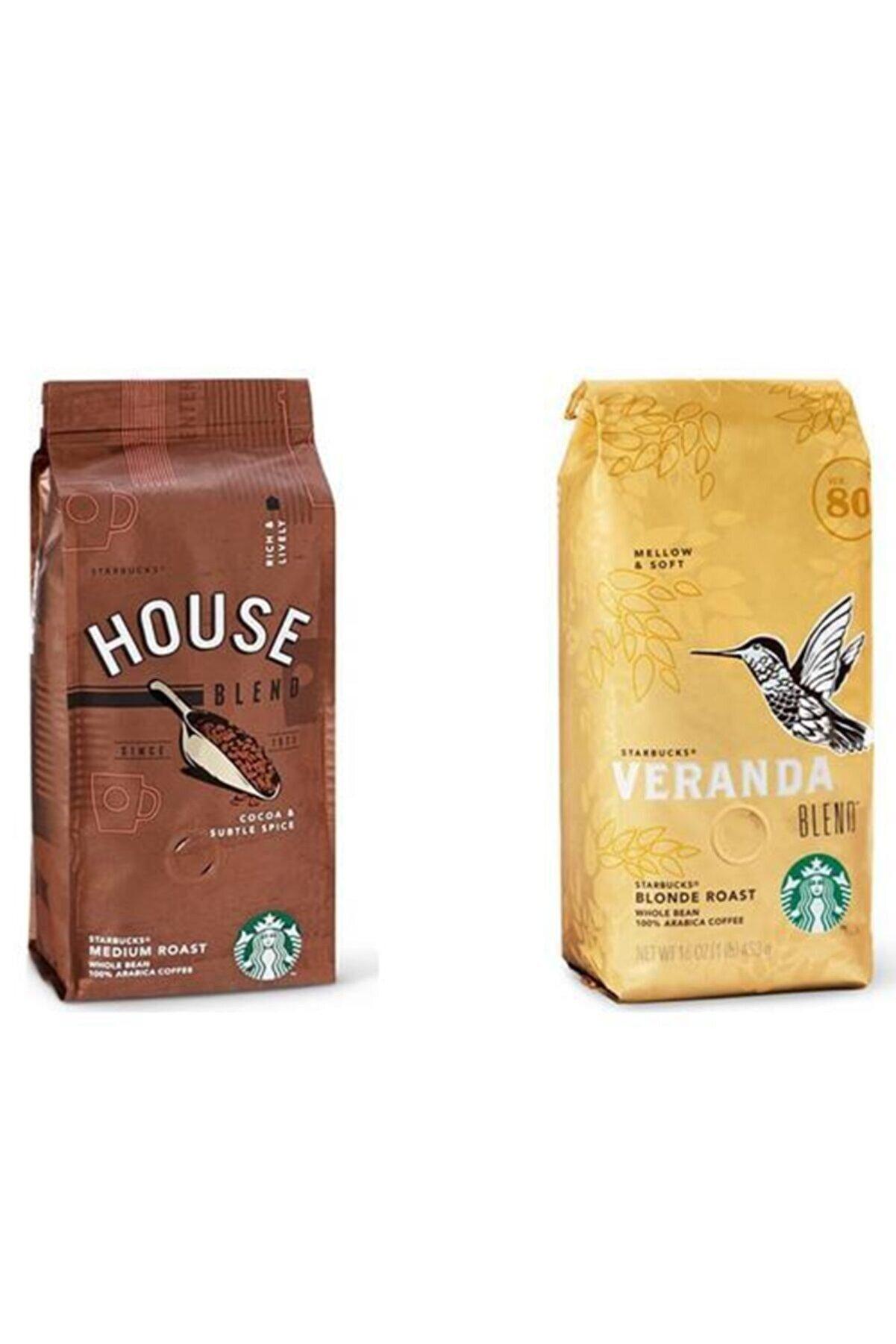 Starbucks House Blend Ve Veranda Çekirdek Kahve 250 G X 2 Adet
