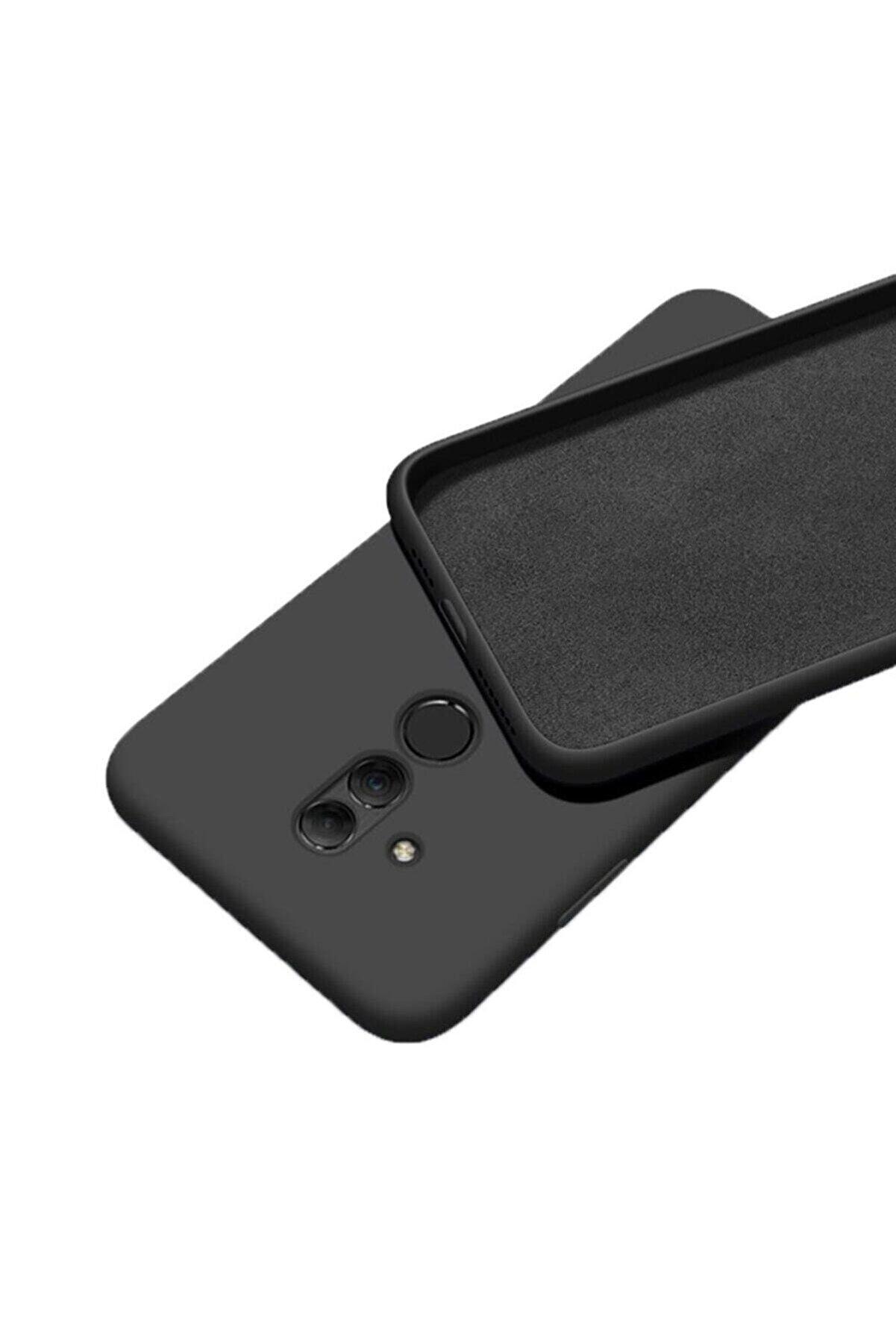 Mopal Huawei Mate 20 Lite Uyumlu Içi Kadife Lansman Silikon Kılıf