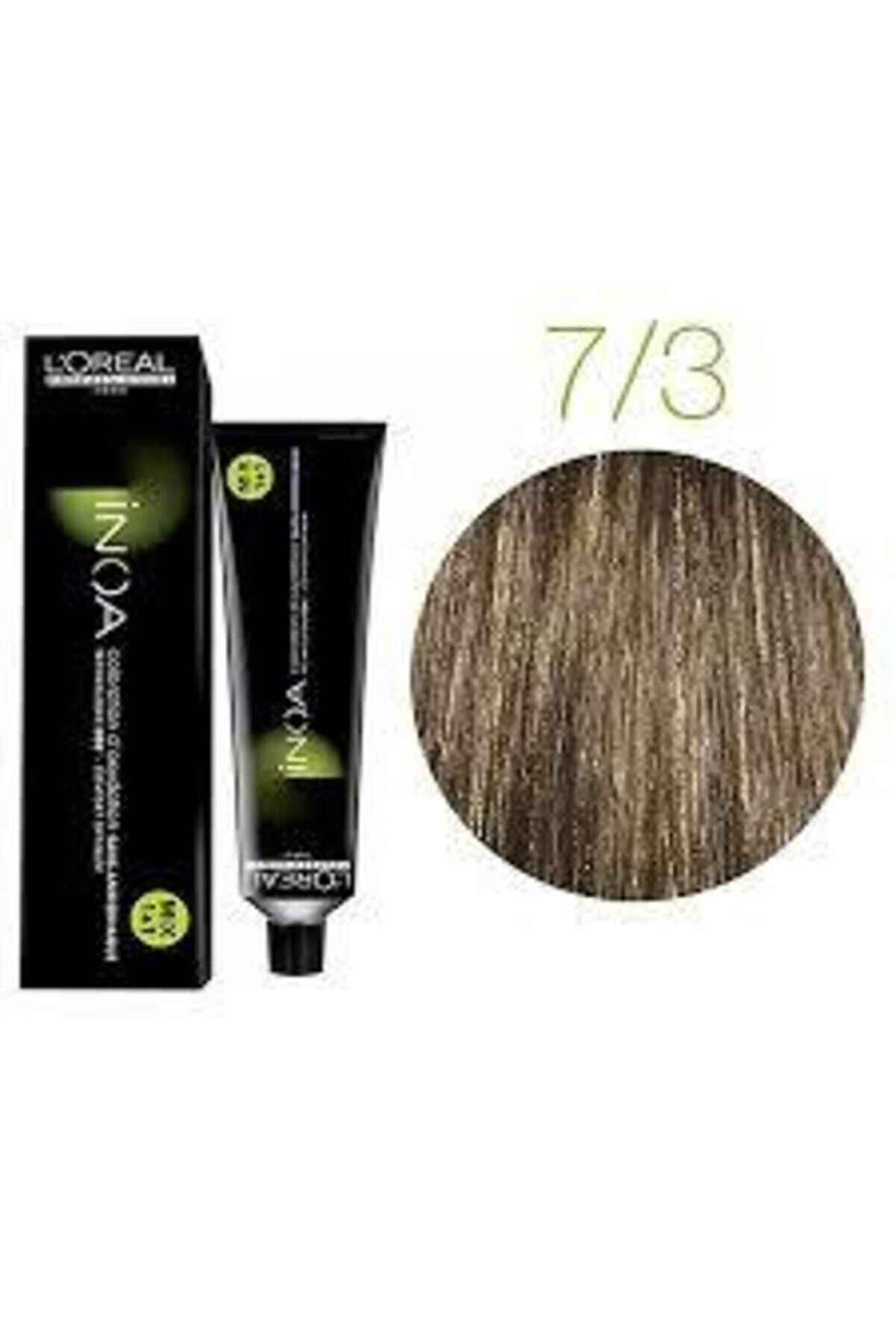 İNOA 7.3 Numara Kumral Dore Saç Boyası 60 ml Oksidansız