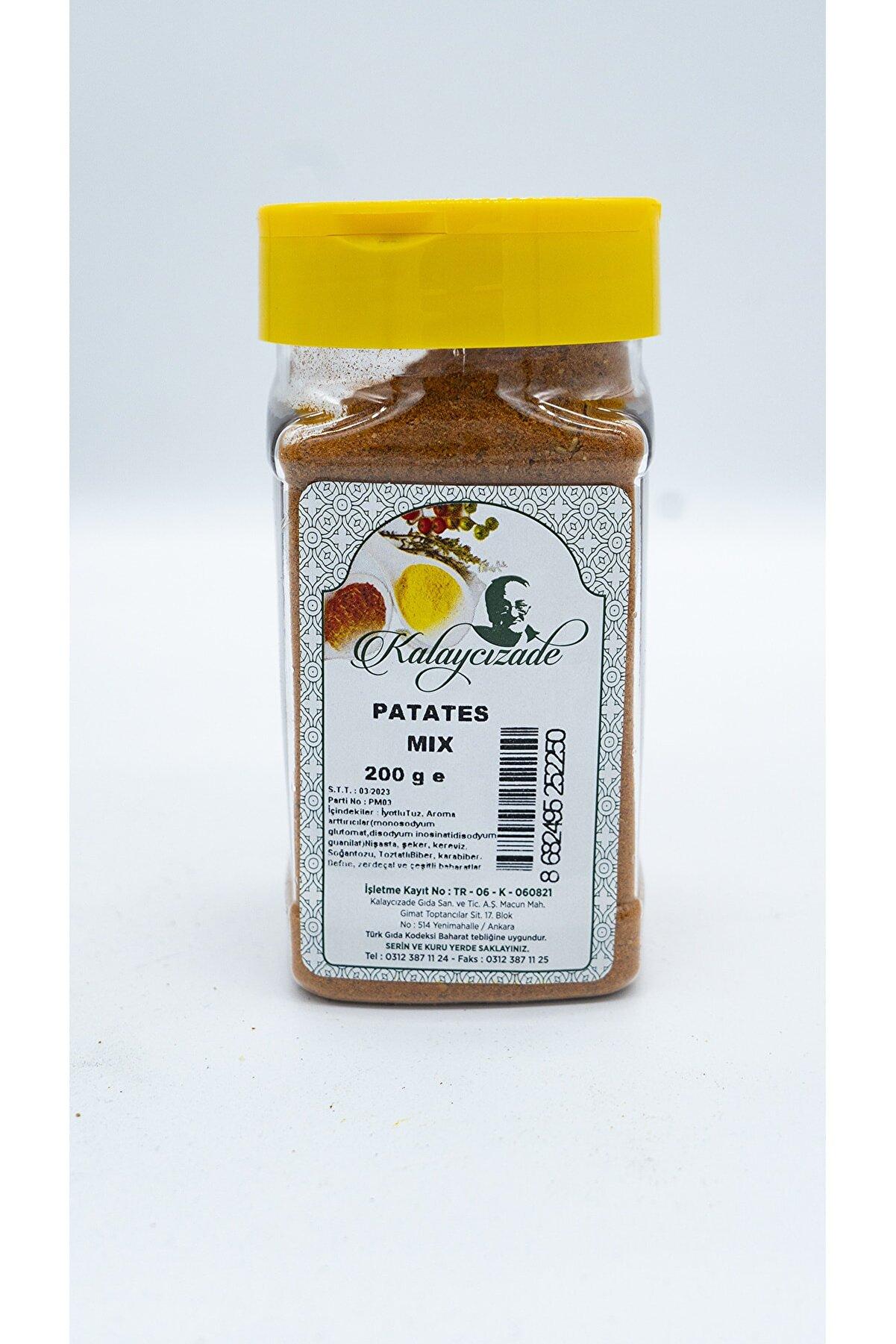 KALAYCIZADE Patates Mix Sos 200gr Pet