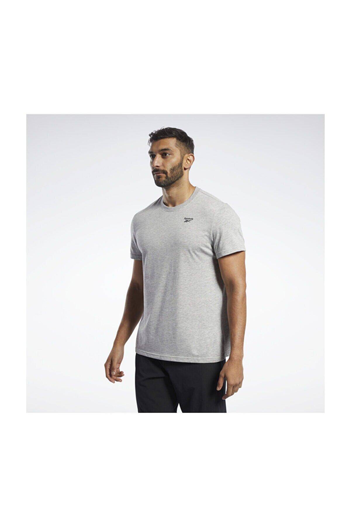 Reebok Erkek Yetişkin Spor T-Shirt TE SL CLASSIC TEE   MGREYH FP9183